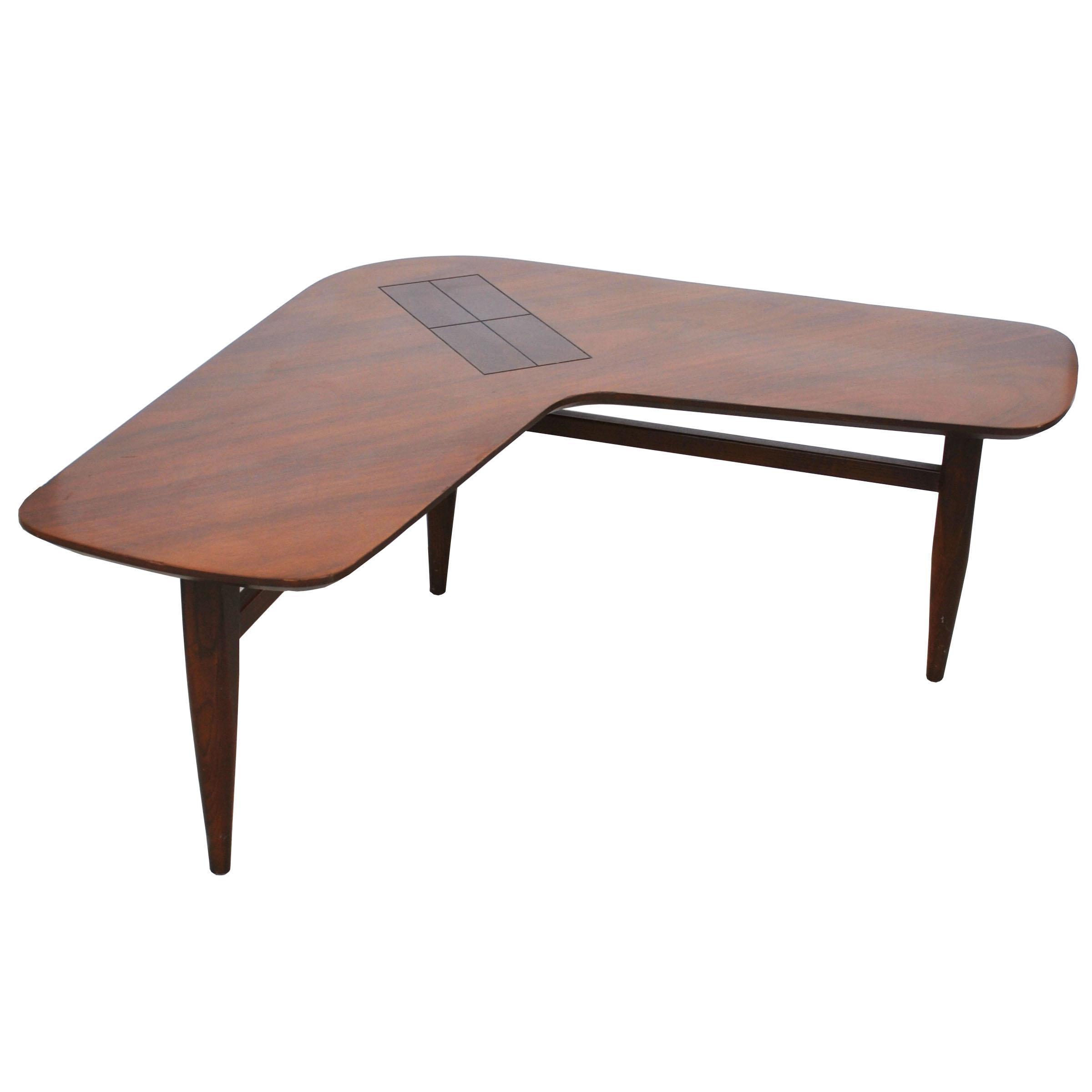 - Midcentury Walnut Boomerang Coffee Table Chairish