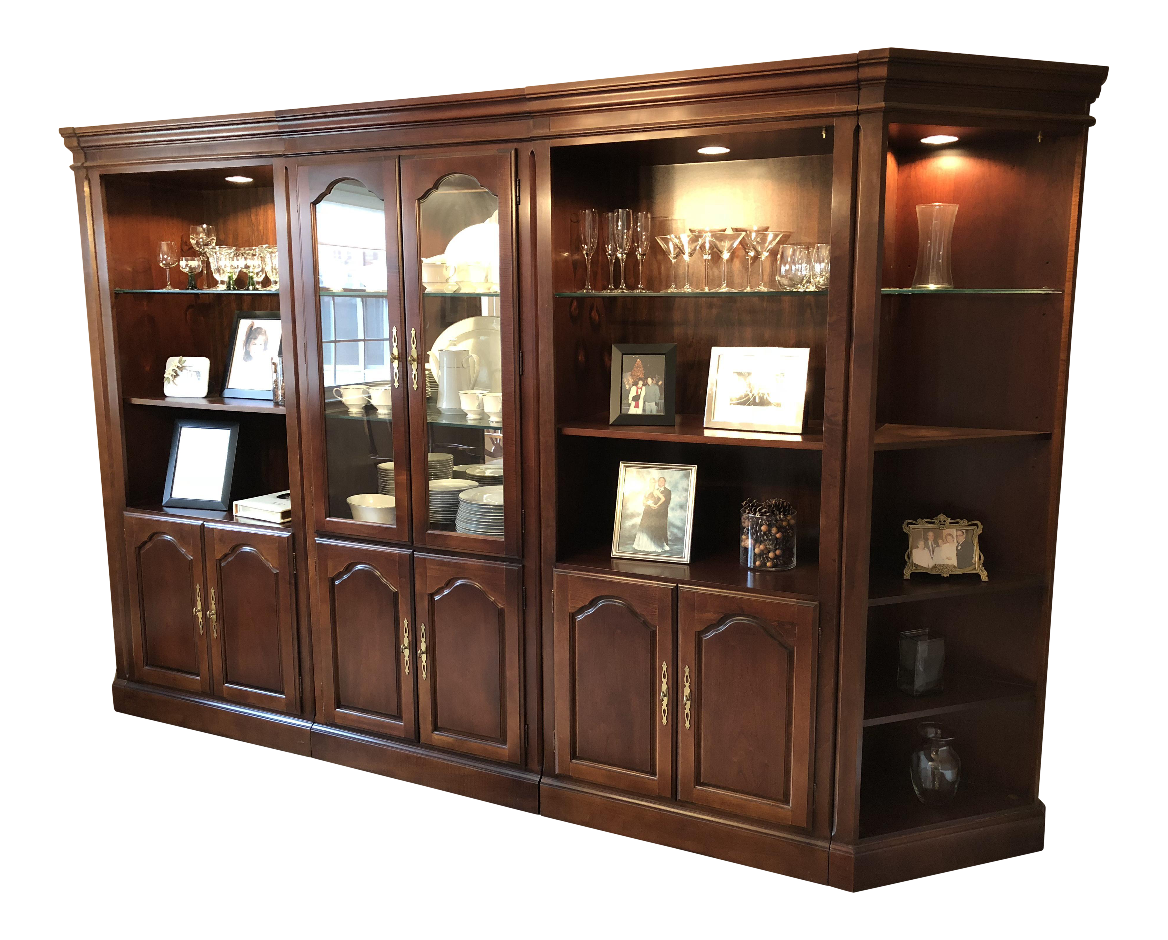 wide bookcase heartland amusing cherry lighted harris home bookcases of family top gallery awesome lovely american design poplar