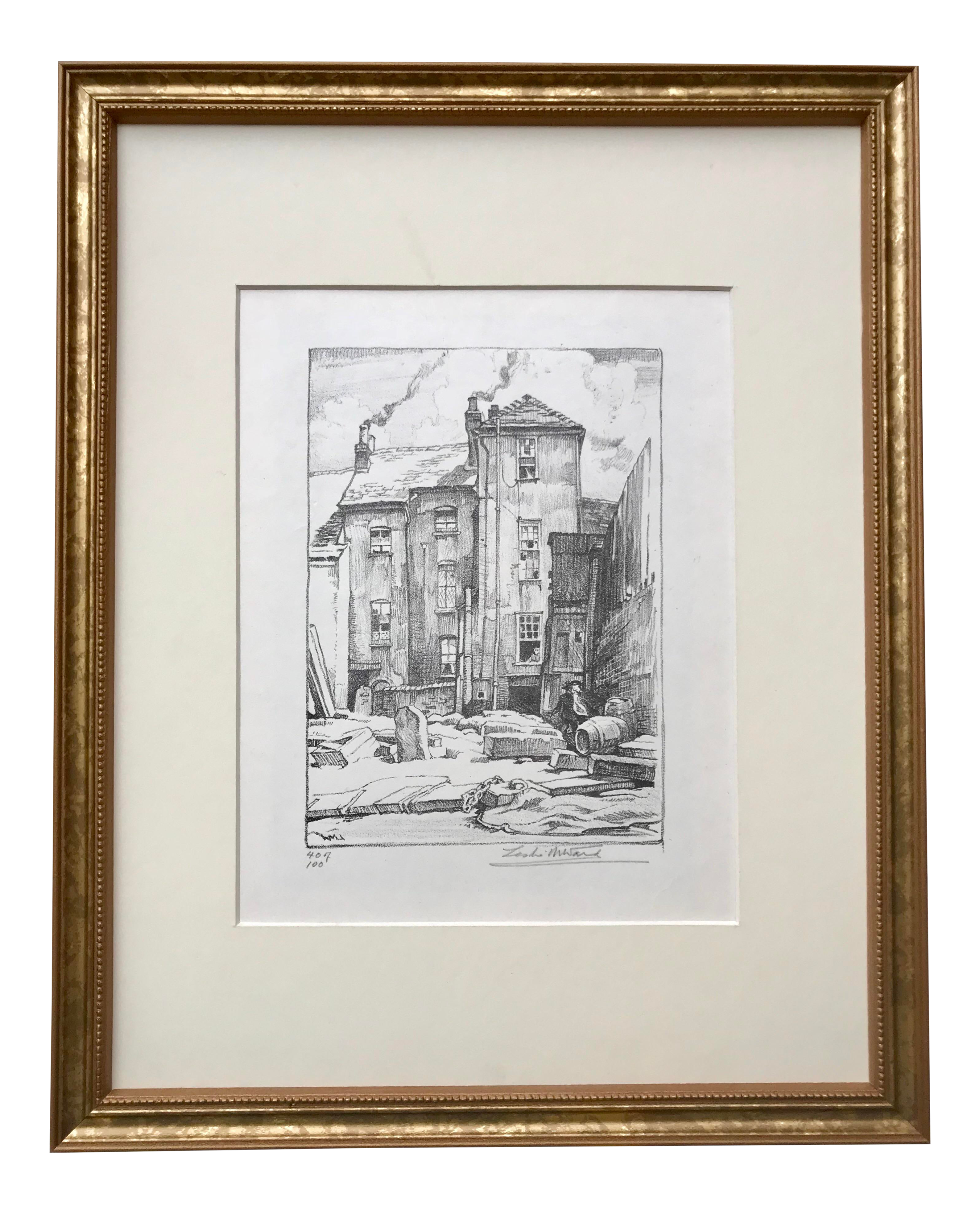 Antique Lithograph London By Leslie Ward Chairish