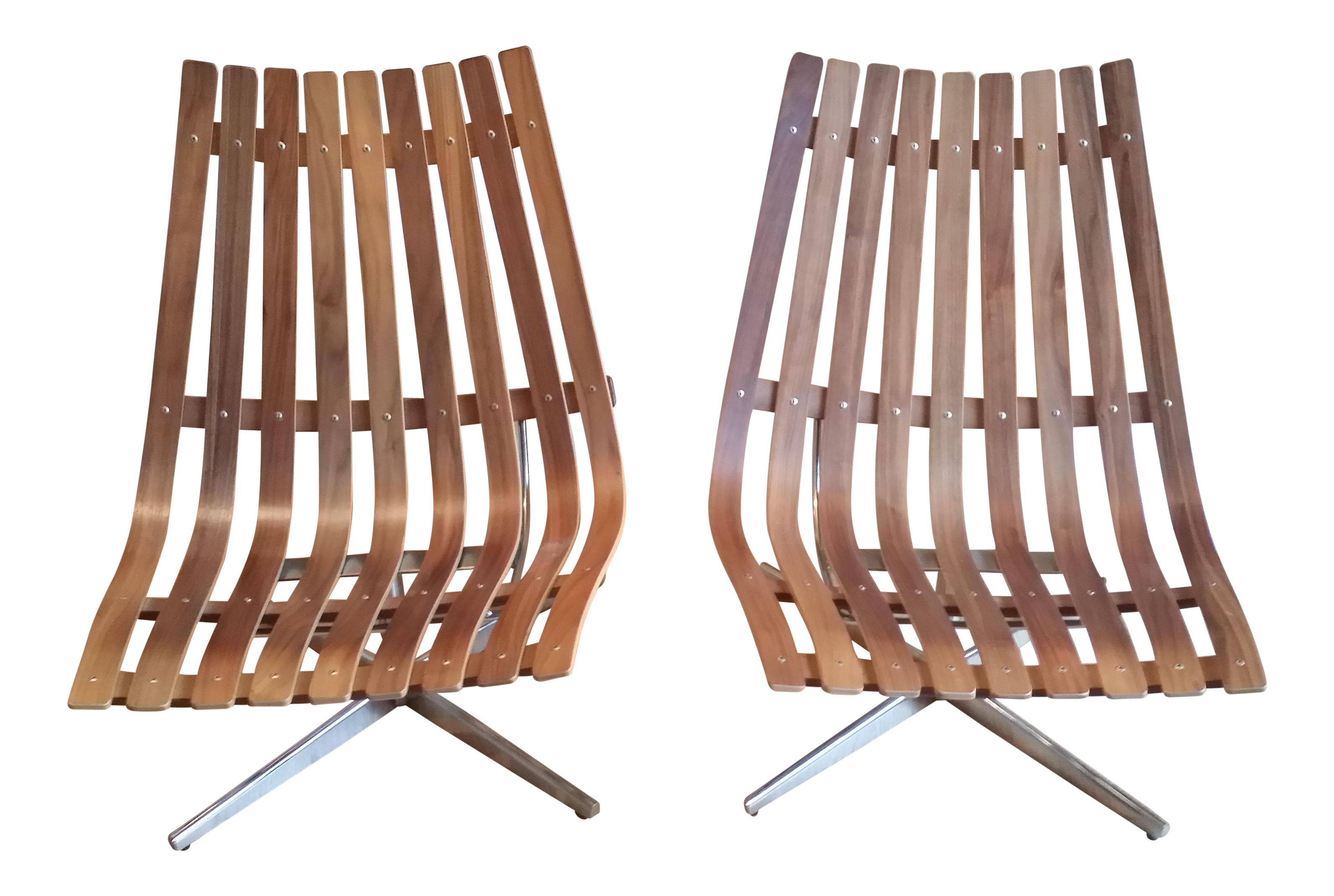 Wedgy Gaming Chair: Scandia Nett Swivel Lounge Chairs By Fjordfiesta
