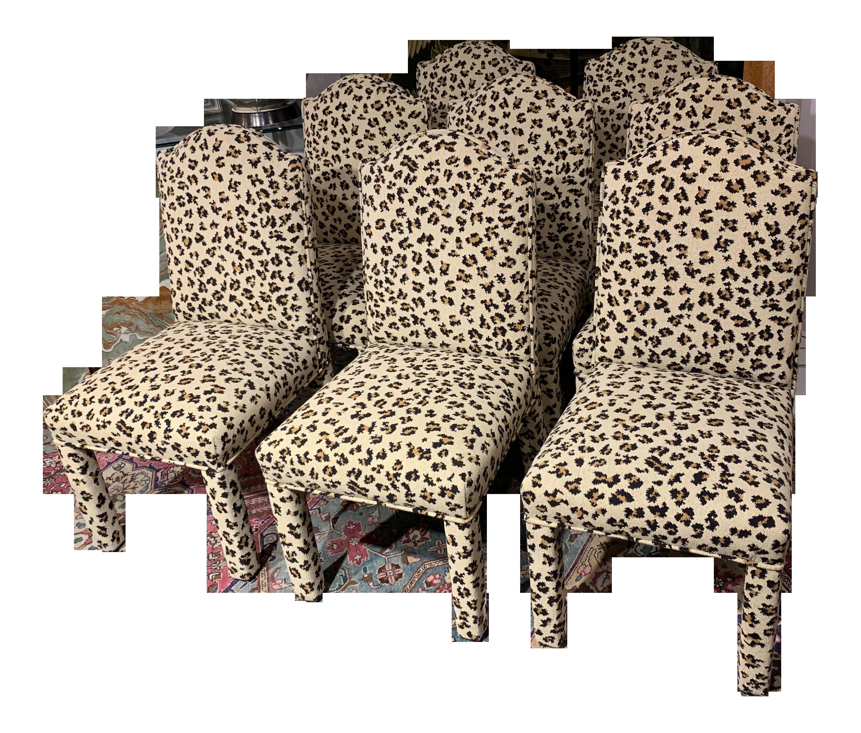 Leopard Print Chairs Zion Star