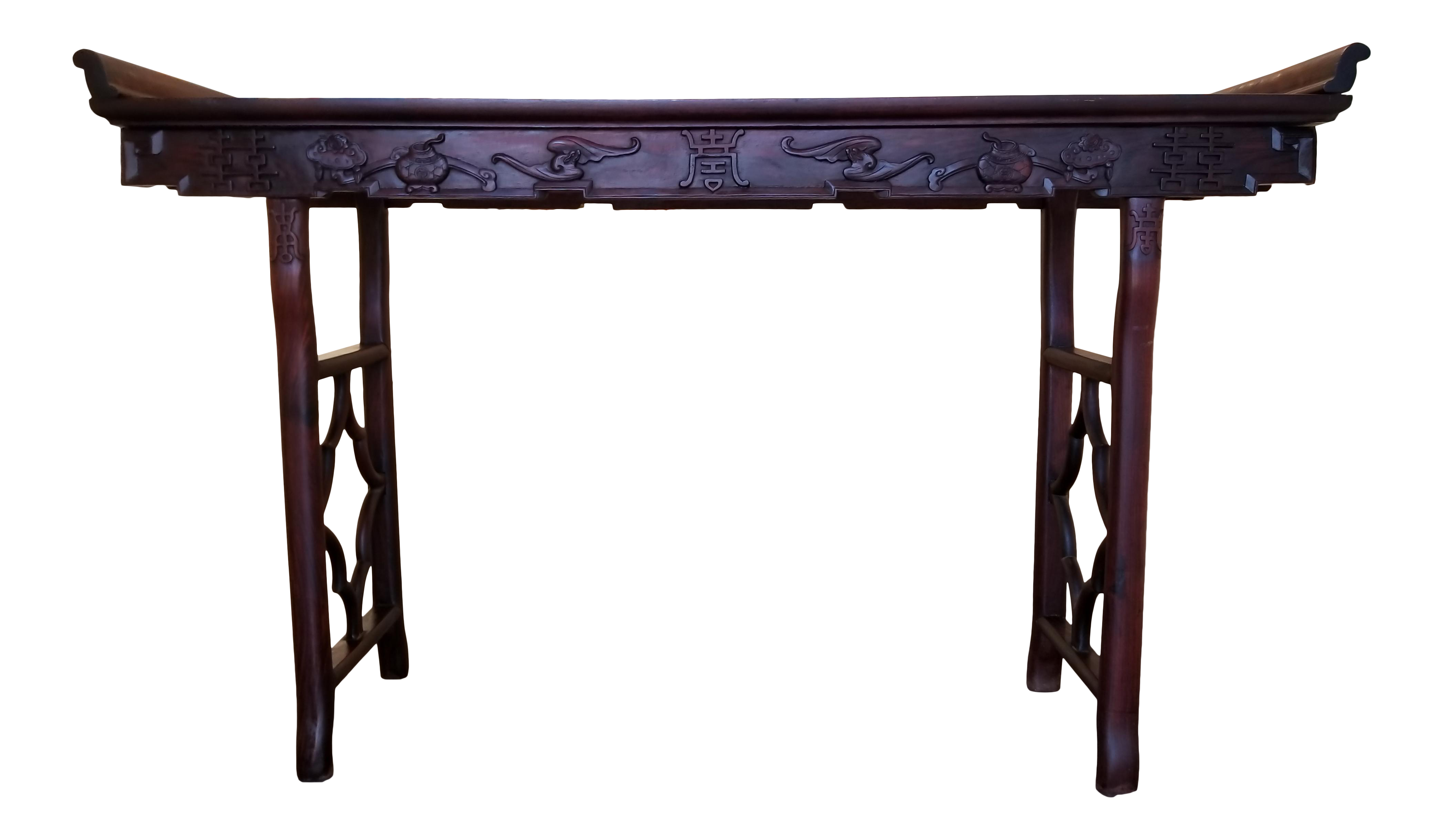 Chinese Solid Rosewood Alter Table