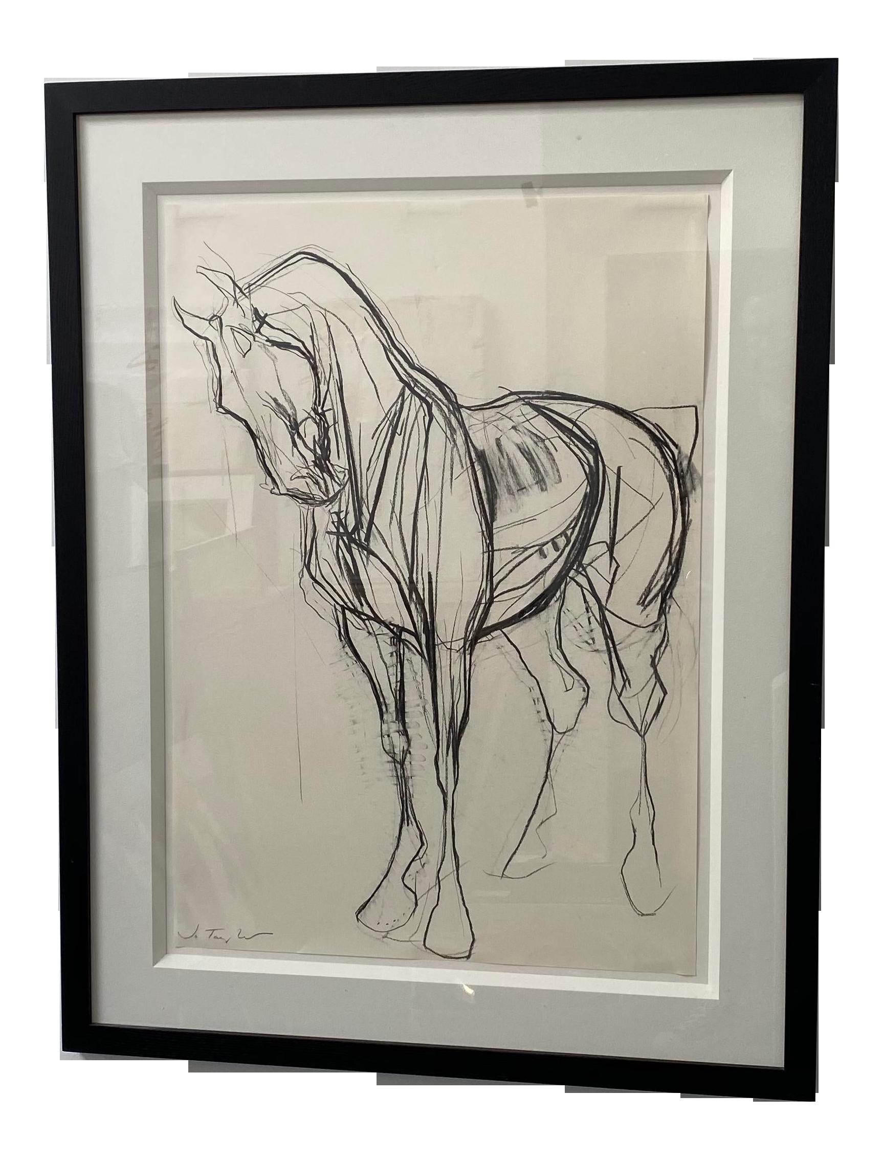 Original Sketch Of War Horse Chairish
