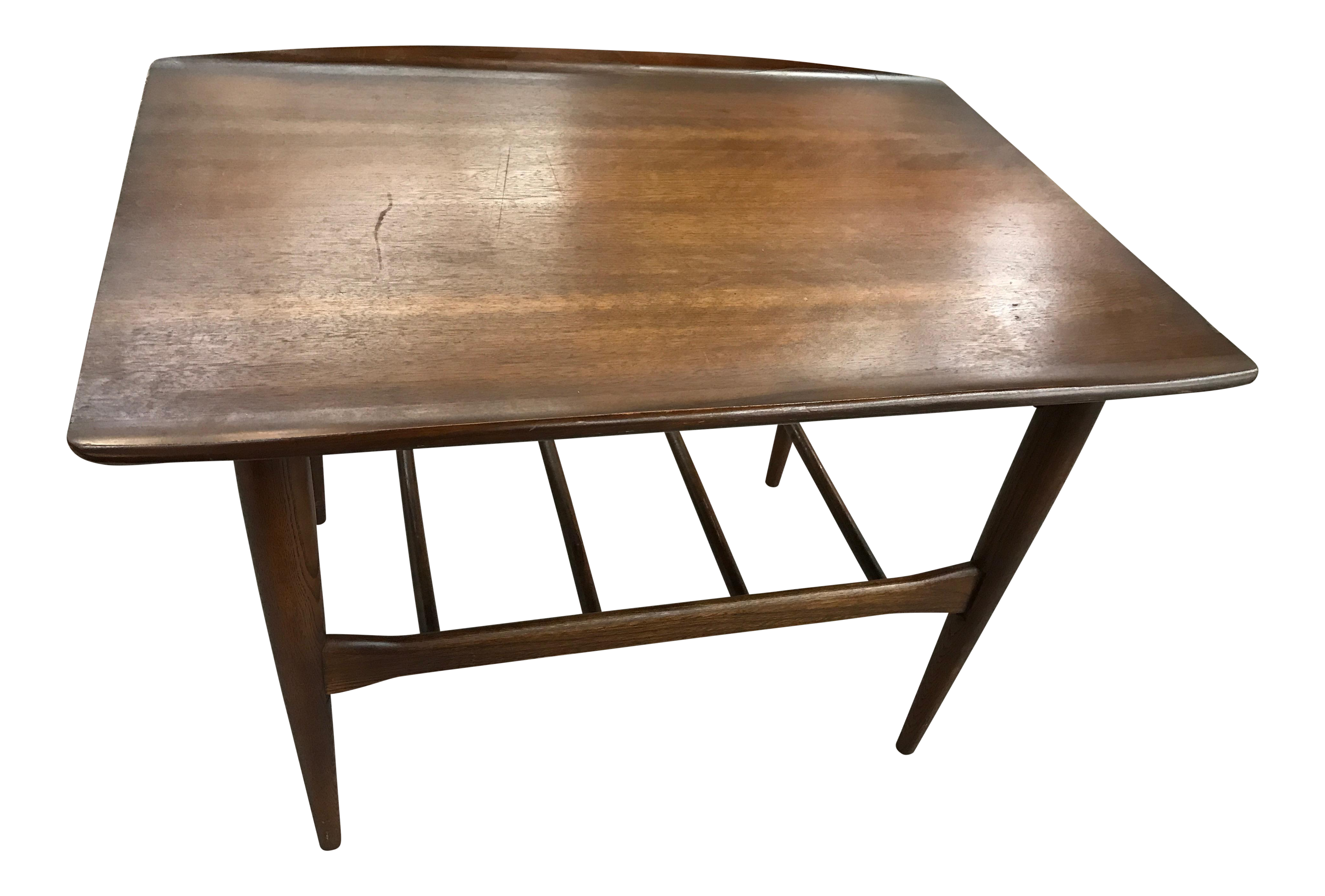 surfboard furniture. Surfboard Furniture. Vintage Bassett Furniture Industries In Danish Inspired Wood Style Side Table | O