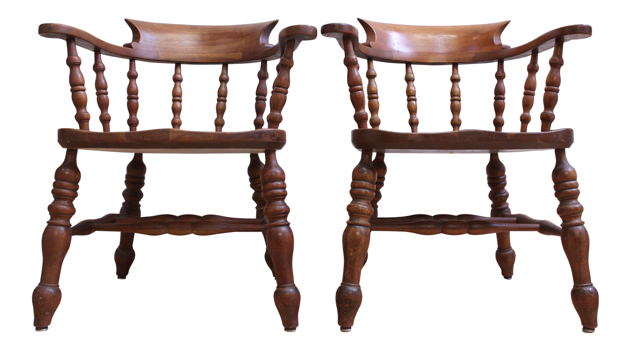 L Jg Stickley Colonial Cherry Valley Captain S Chairs A Pair Chairish