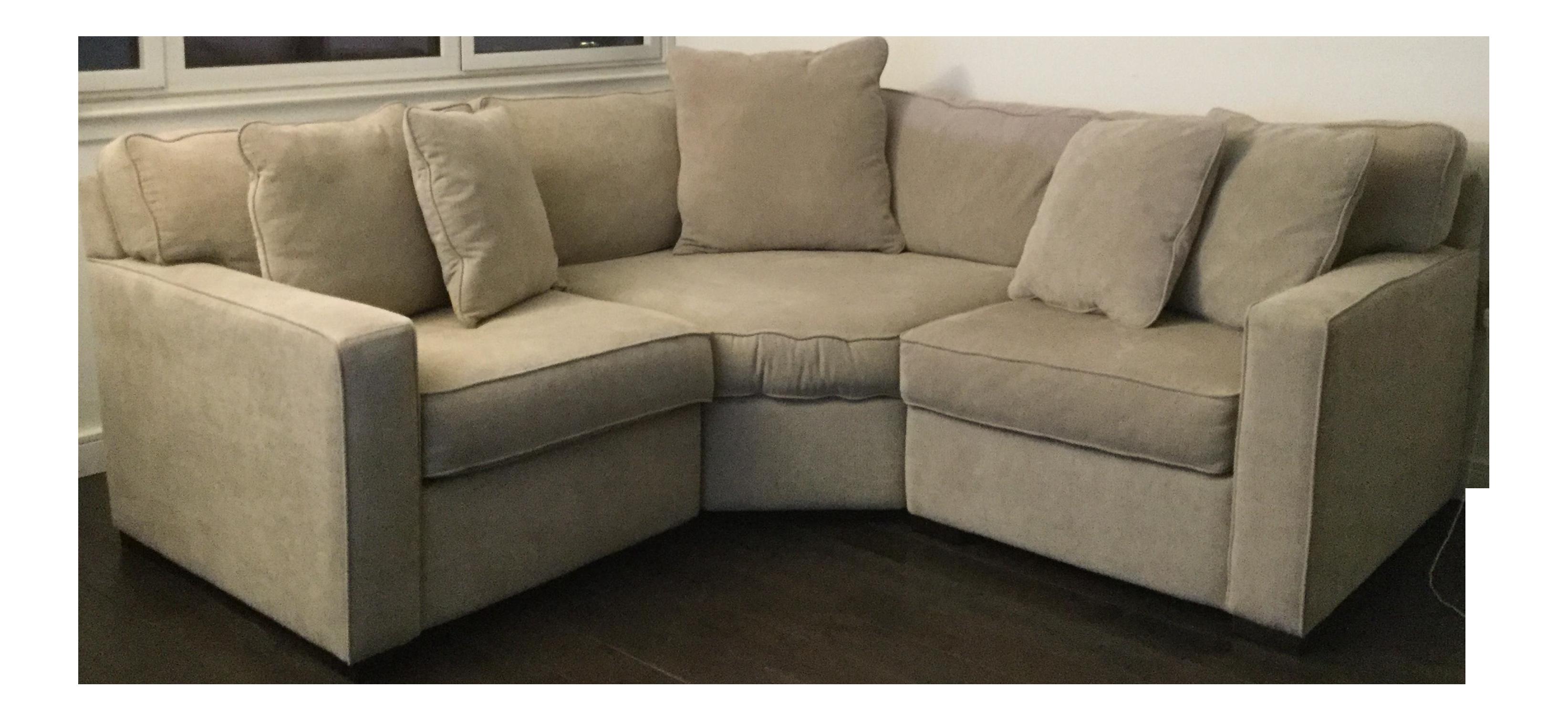 Macys Radley Apartment Sectional Sofa Chairish