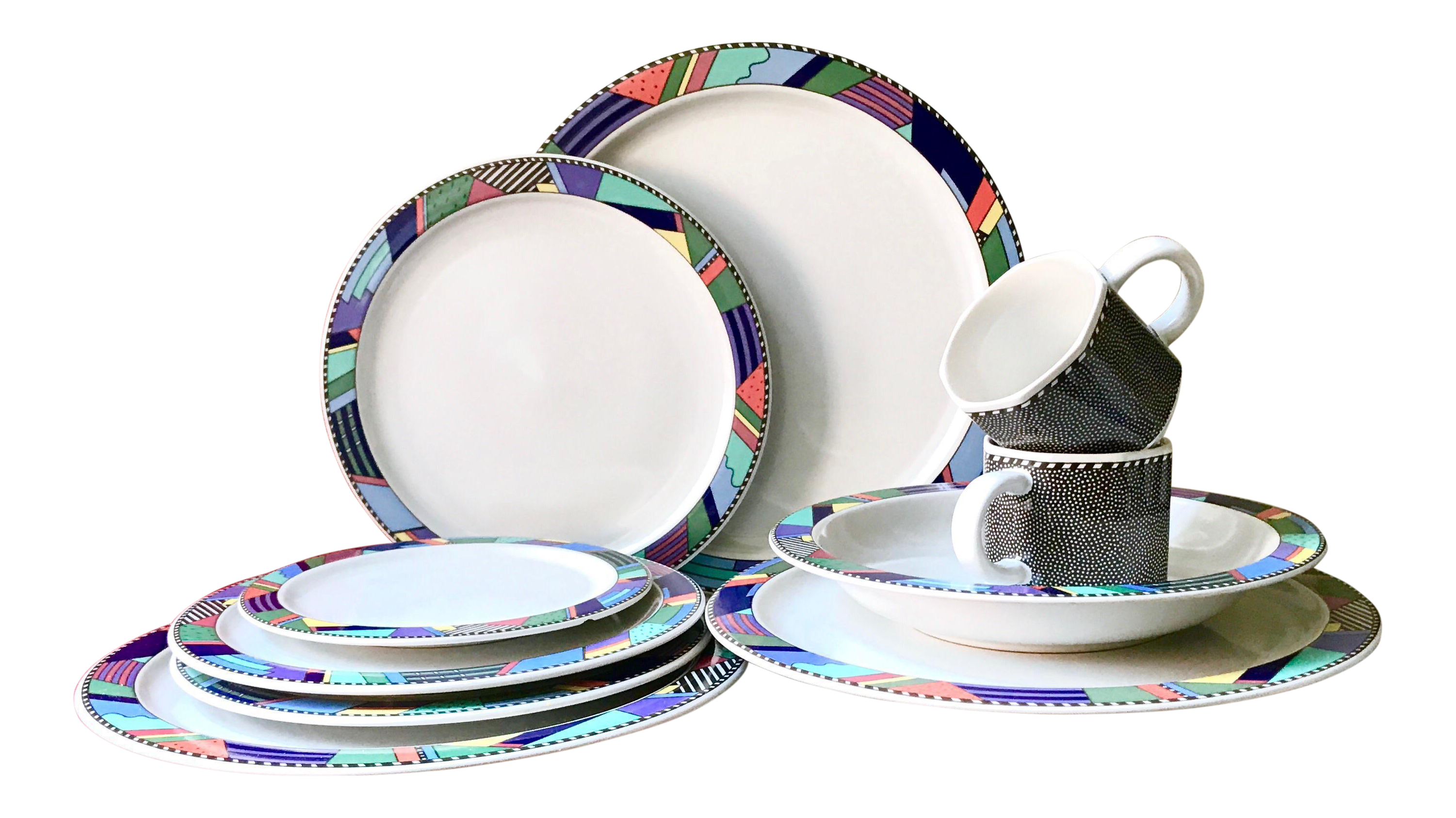 Scenario Barbara Brenner Rosenthal Studio Line Dinnerware - Set of 11 | Chairish  sc 1 st  Chairish : dinnerware - pezcame.com