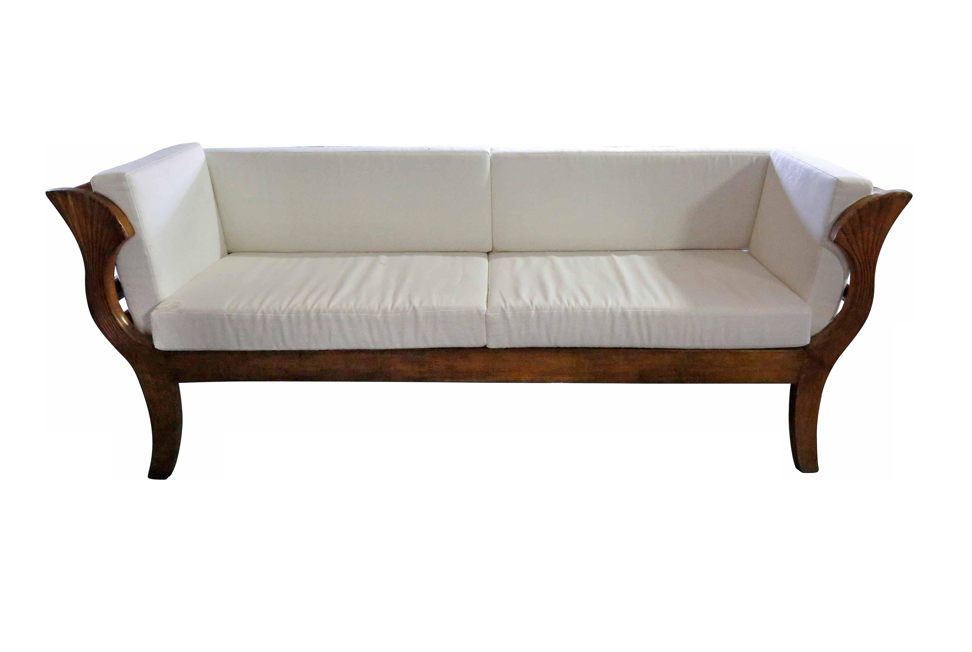Sofa - Wooden Contemporary Sofa
