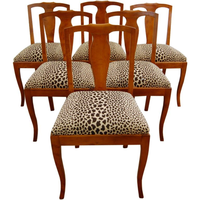 birch dining chairs swedish birch dining side chairs set of 6 chairish 1660