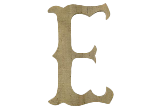 French carved wood marquee letter chairish