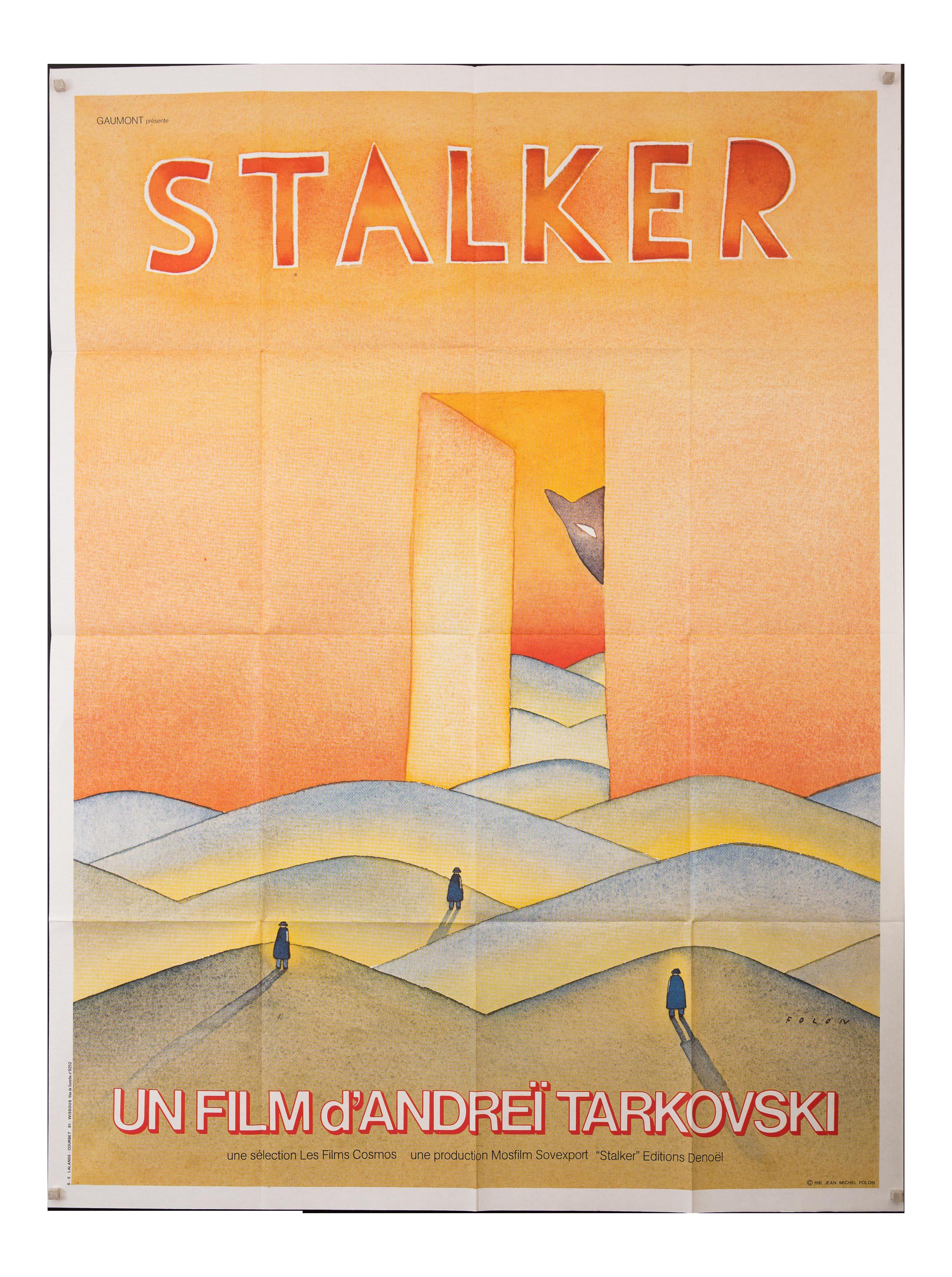 Vintage French Andrei Tarkovsky \