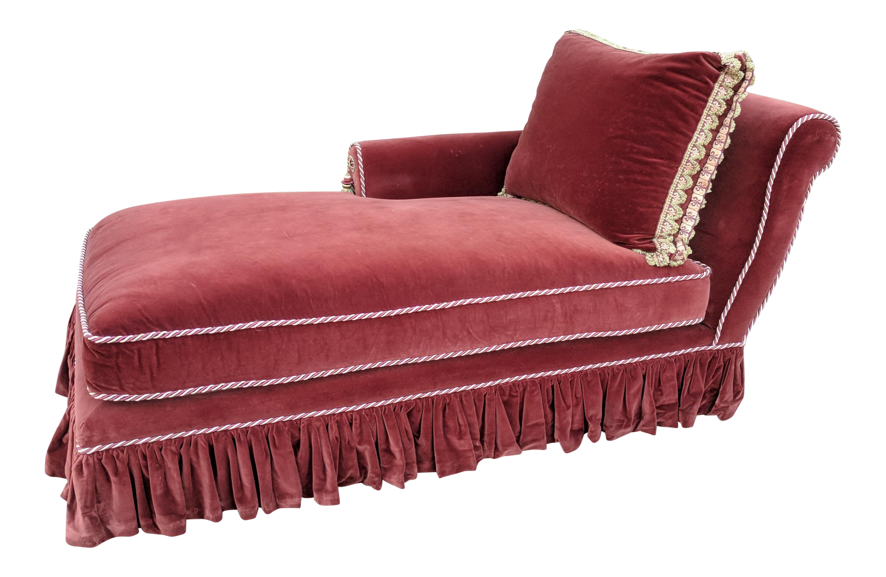 banquette town cover country velour with couch sofa base burgundy inventory slip