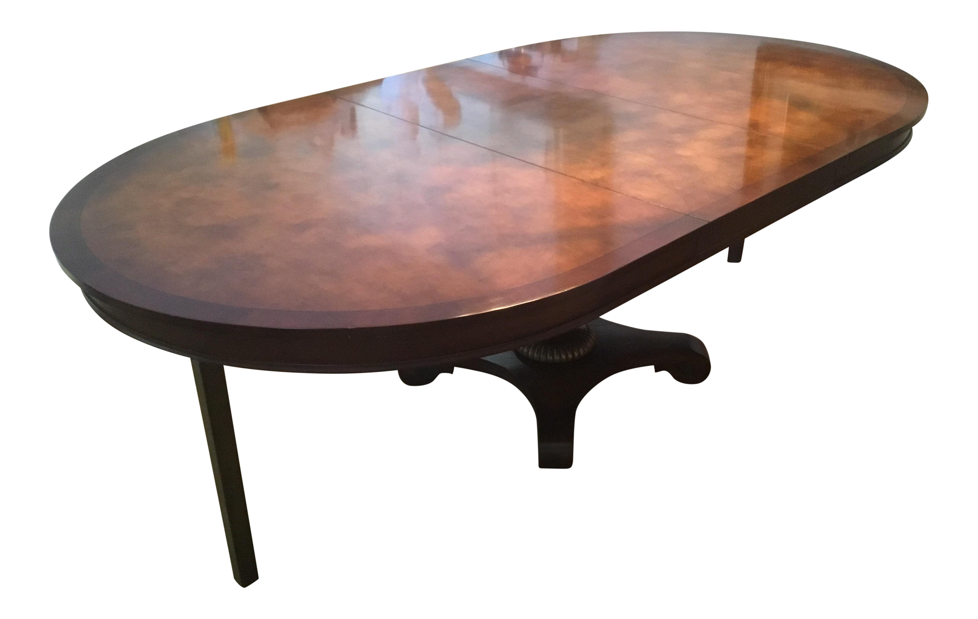 Amazing 1950S Art Nouveau Magnificent Inlaid Dining Table With Gold Leaf Design Download Free Architecture Designs Photstoregrimeyleaguecom