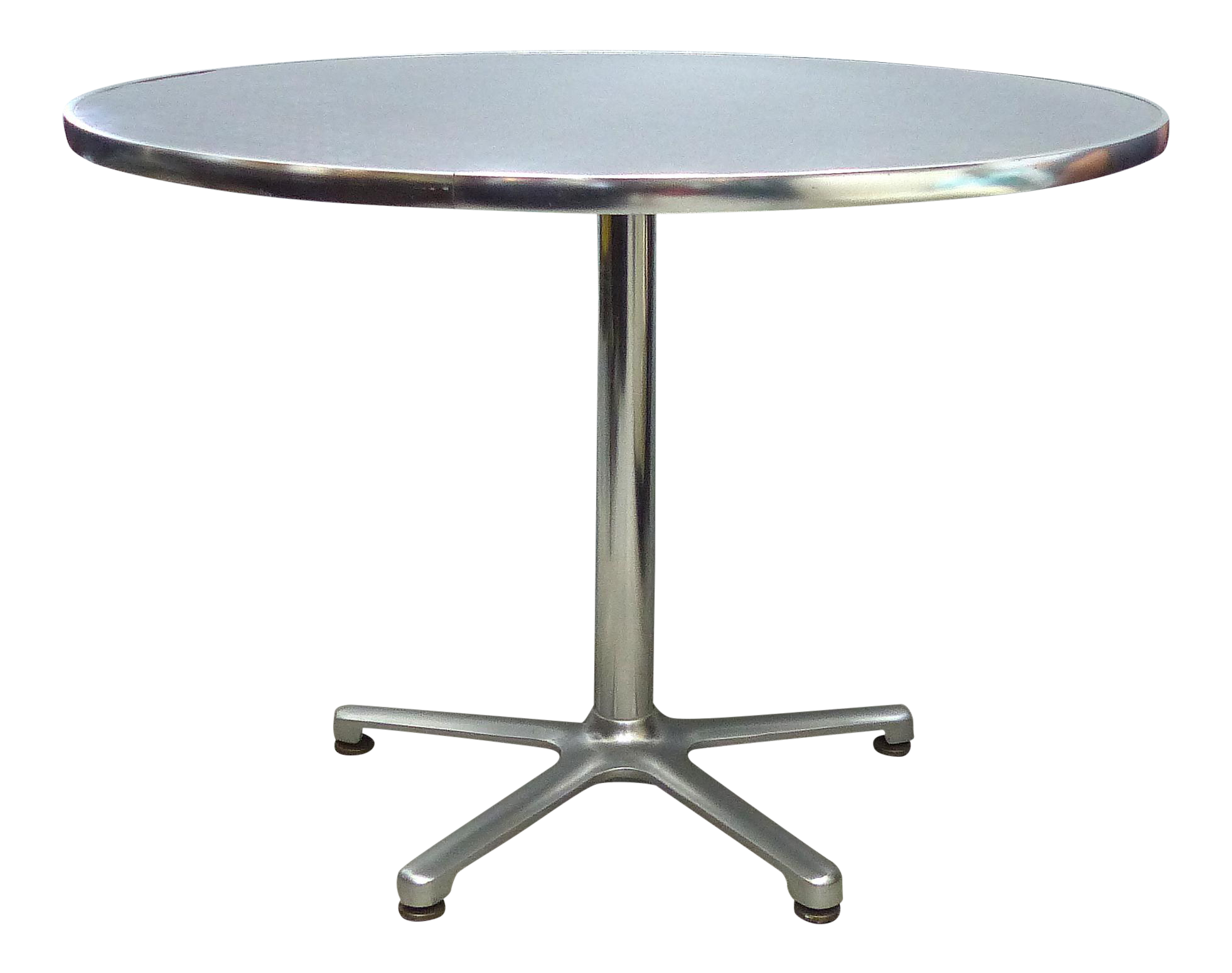 Aluminum Bistro Table By Jorge Pensi For Amat Spain For Knoll