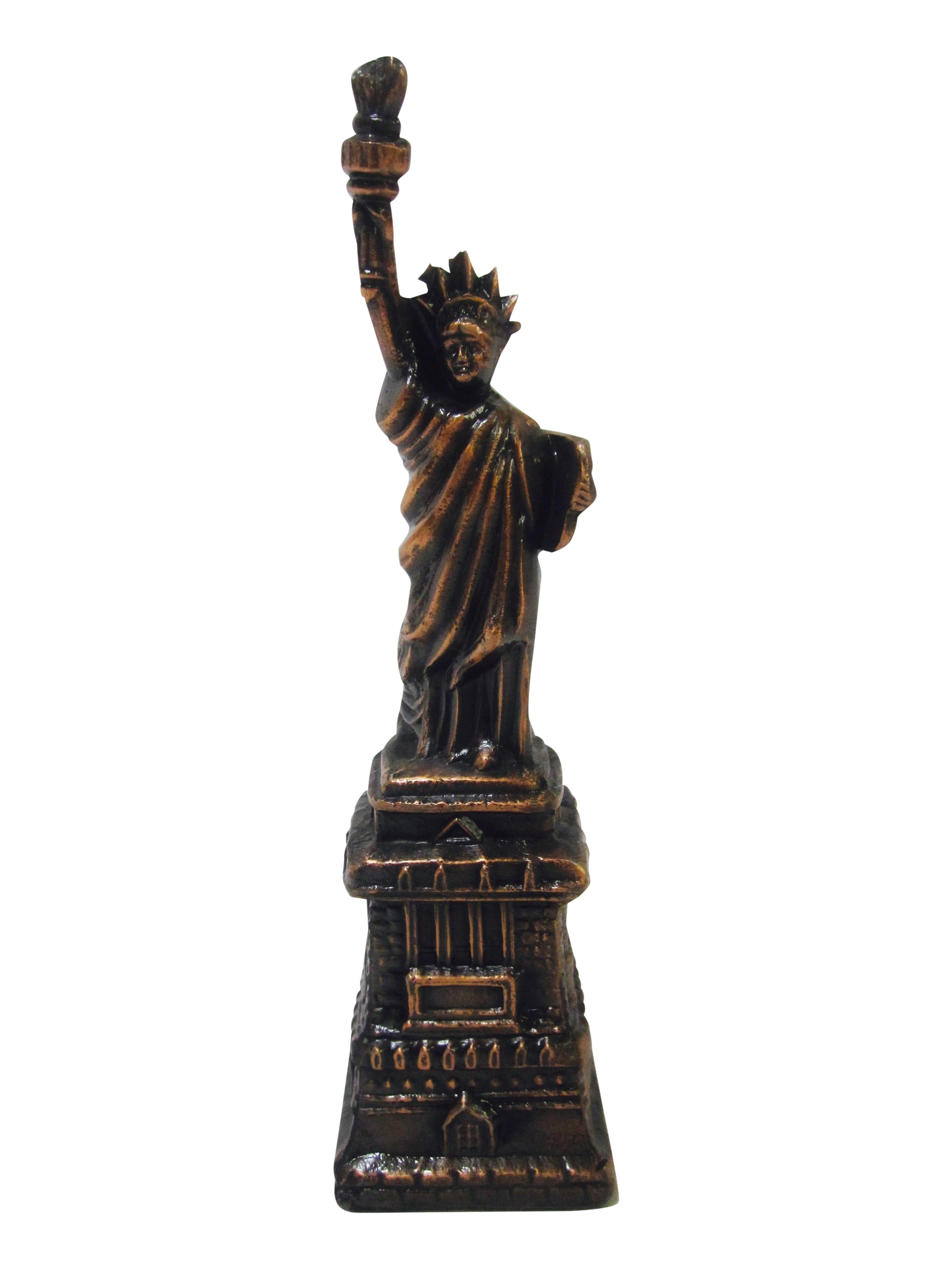 Bronze Statue Of Liberty Object Chairish