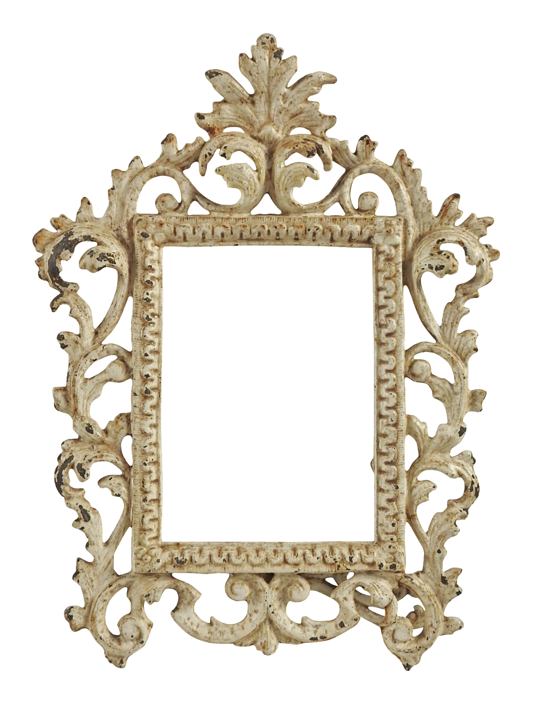 Vintage Shabby Chic Iron Picture Frame Chairish