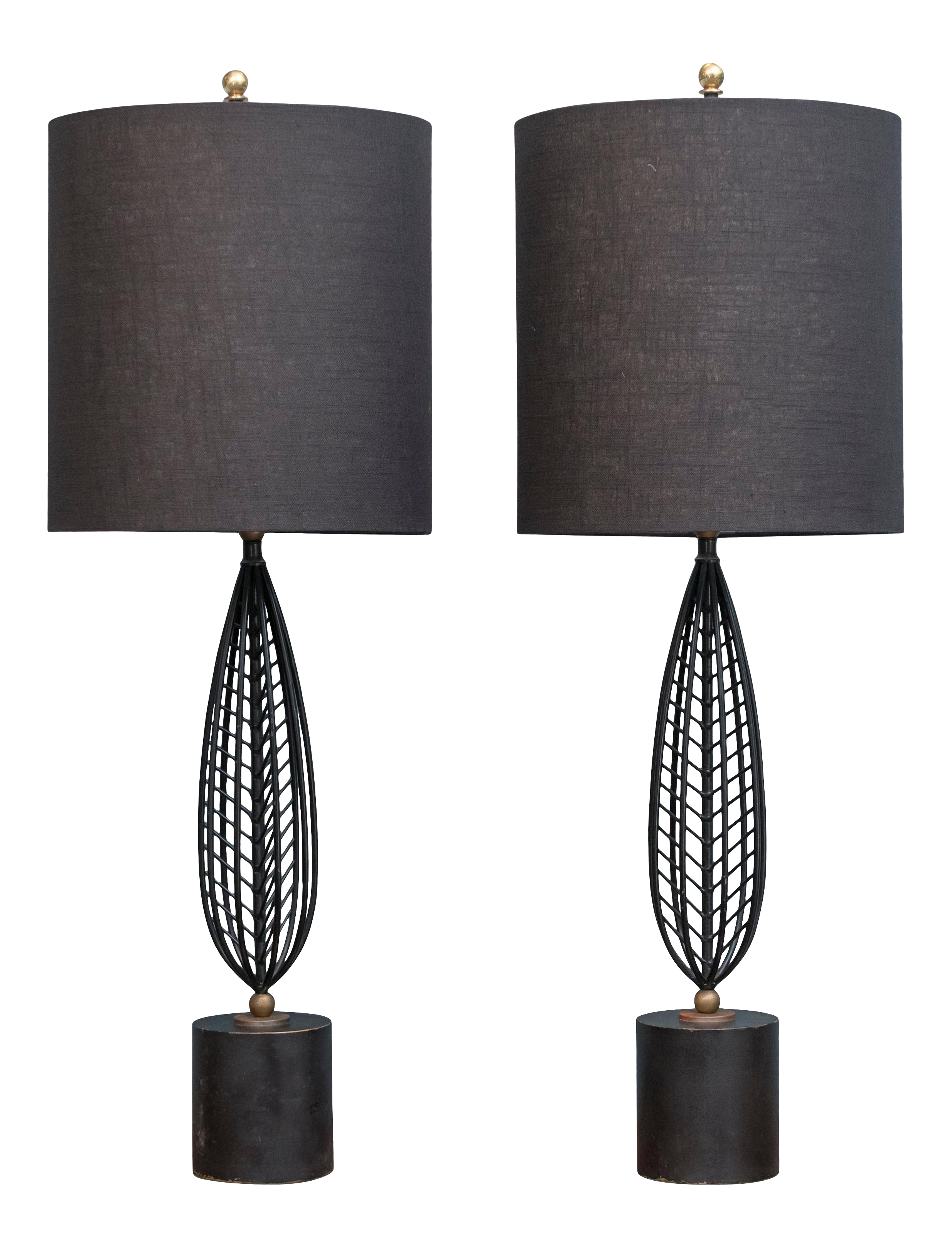 Image of: Mid Century Modern Table Lamps Chairish