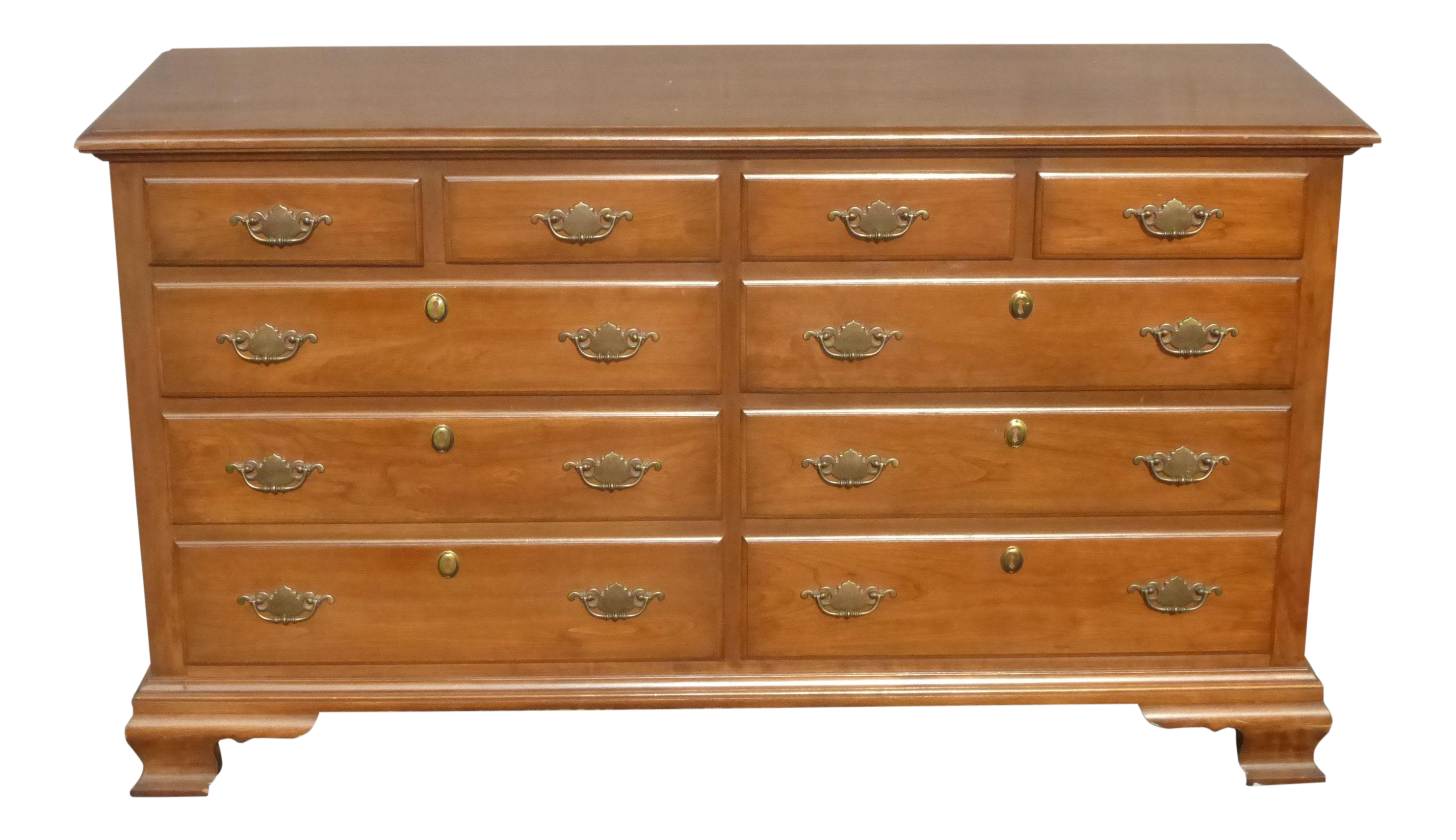 Image of: 1950s Vintage Pennsylvania House Ethan Allen Style Maple Dresser Chairish