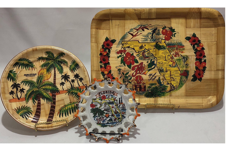 Vintage Florida Souvenirs - Set of 3 | Chairish