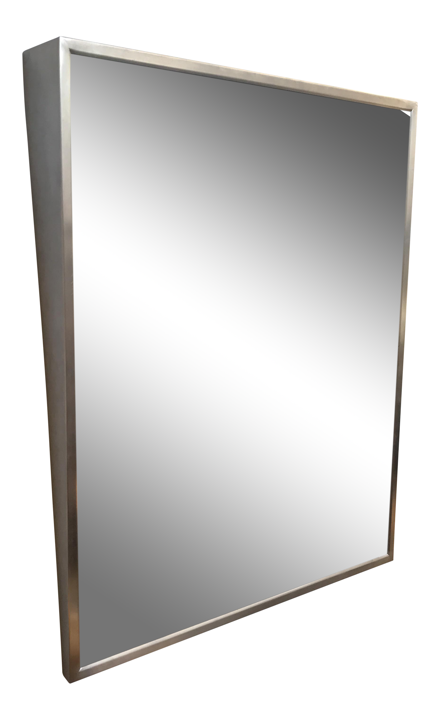 Industrial Wall Mount Angled Mirror Chairish