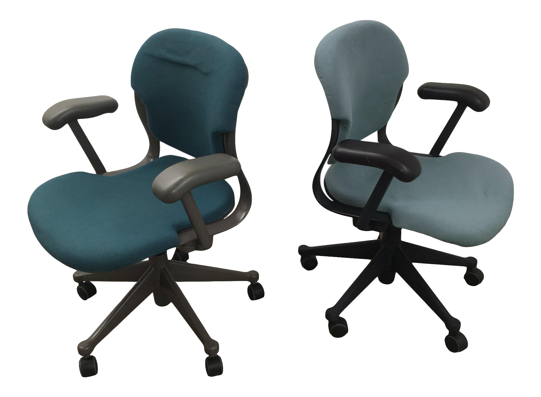 Image of: Vintage Herman Miller Molded Desk Chairs A Pair Chairish