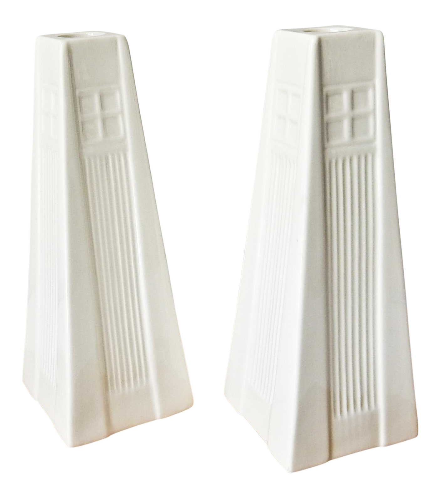 white belleek candle holders a pair chairish With kitchen cabinet trends 2018 combined with belleek candle holders