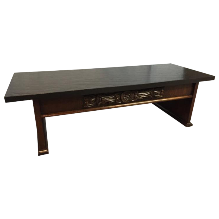 Vintage 1970s Lane Spanish Revival Coffee Table