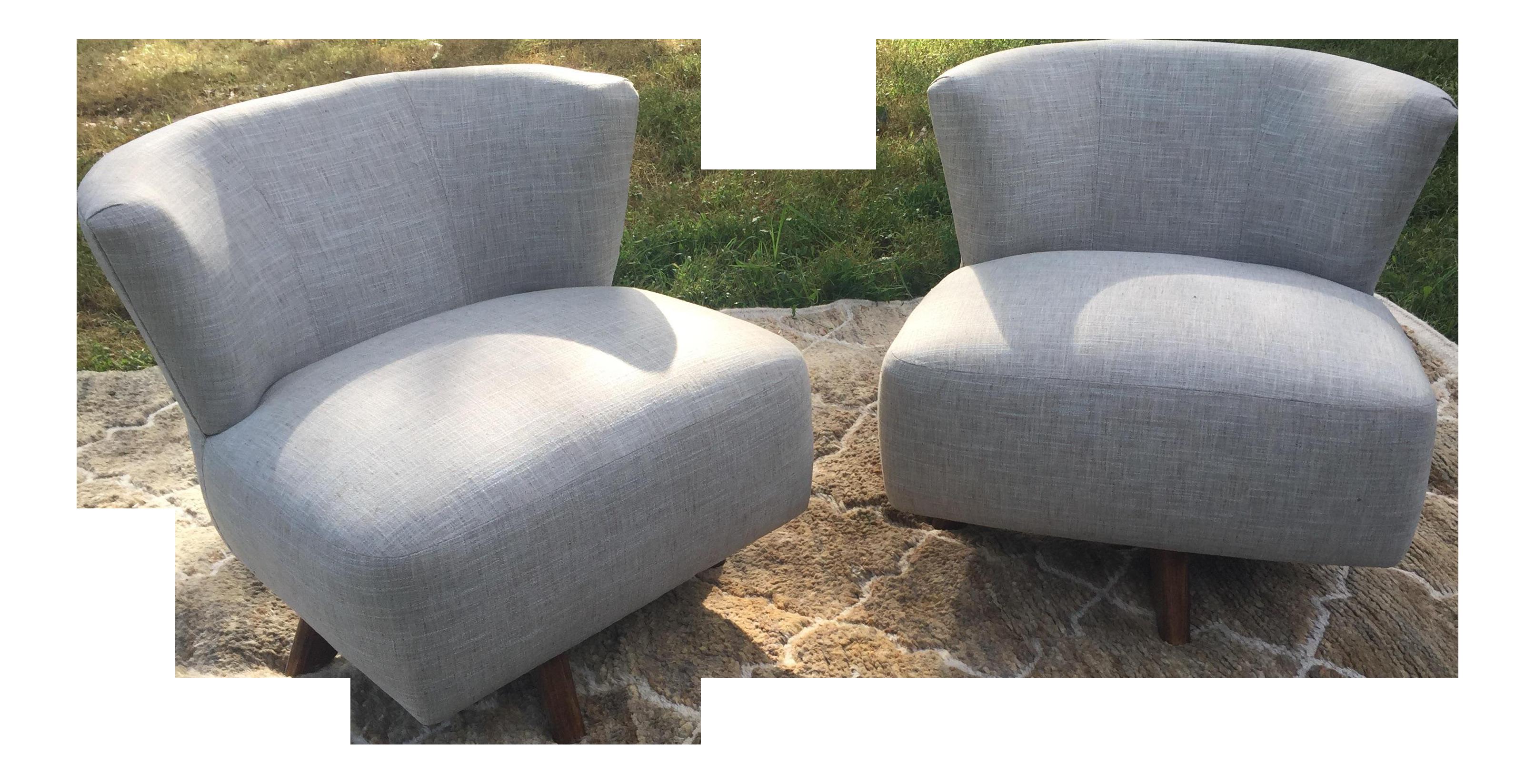 Mid Century Modern Swivel Chair Chairish