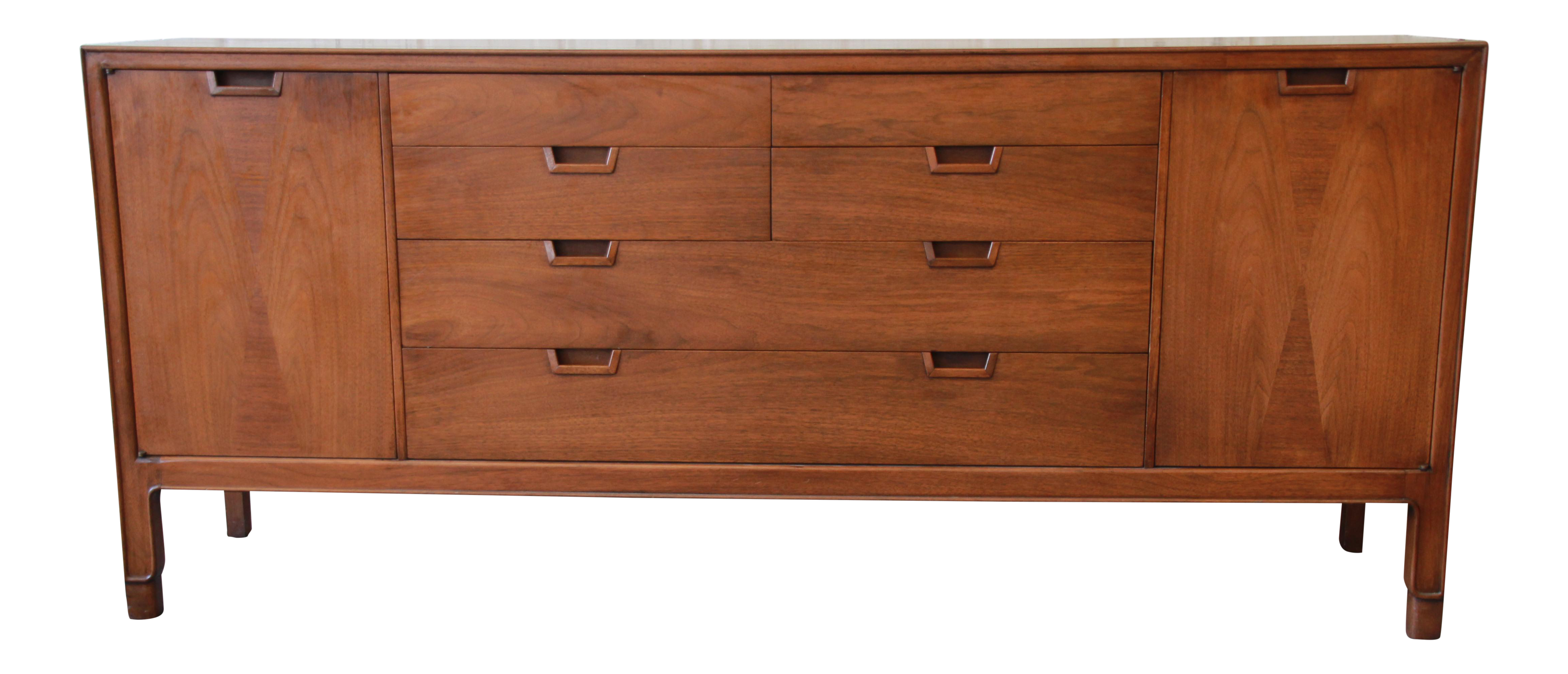 John Stuart Janus Collection 14 Drawer Long Dresser Or Credenza -