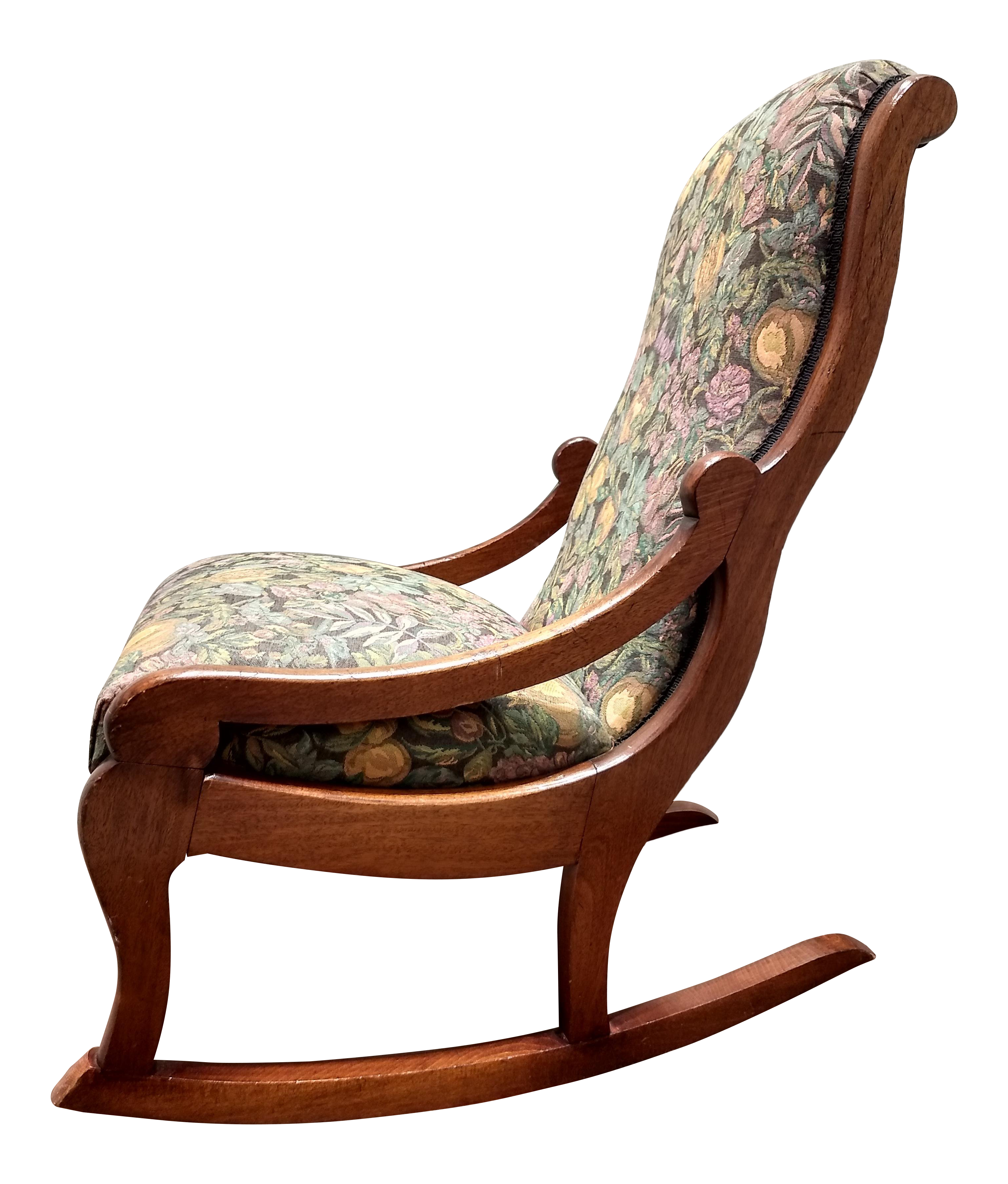 Incredible Early 20Th Century Antique Rocking Chair Beatyapartments Chair Design Images Beatyapartmentscom