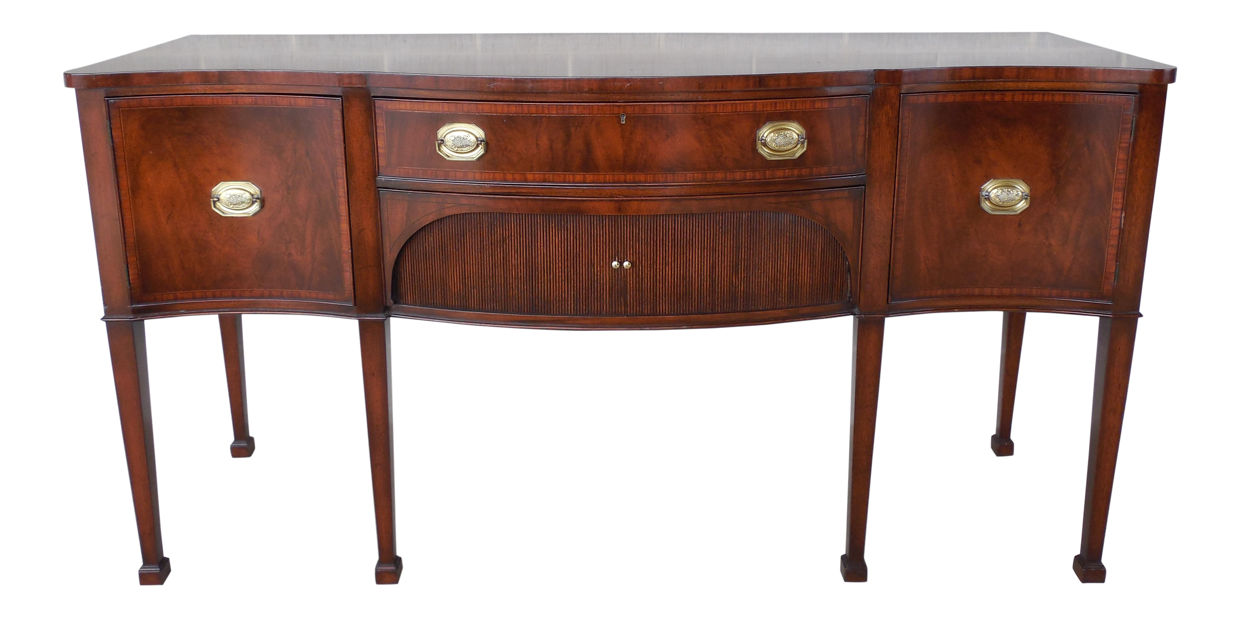 Old Colony Federal Hepplewhite Style Gany Sideboard Buffet Chairish