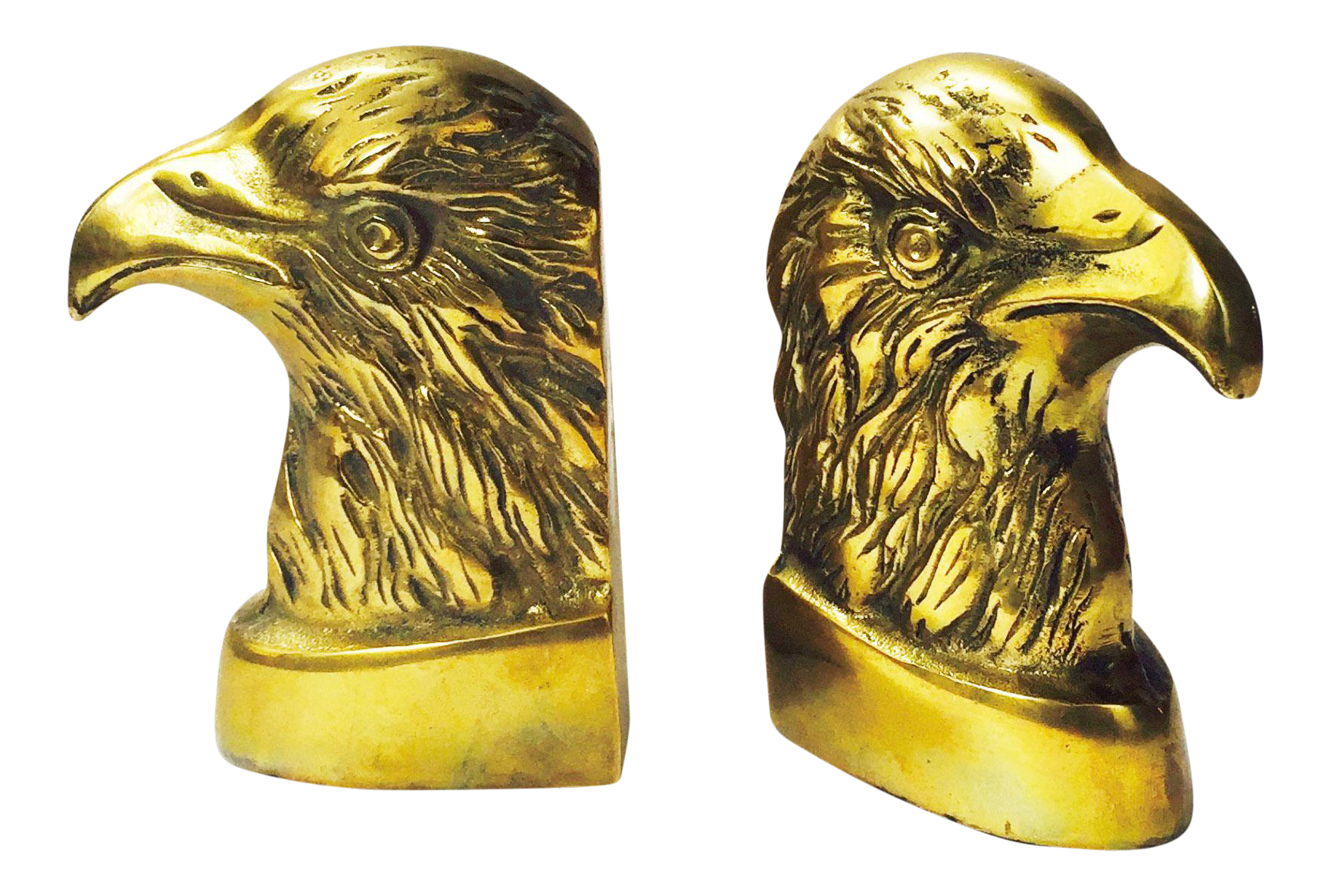 Vintage Brass Eagle Bookends A Pair Chairish