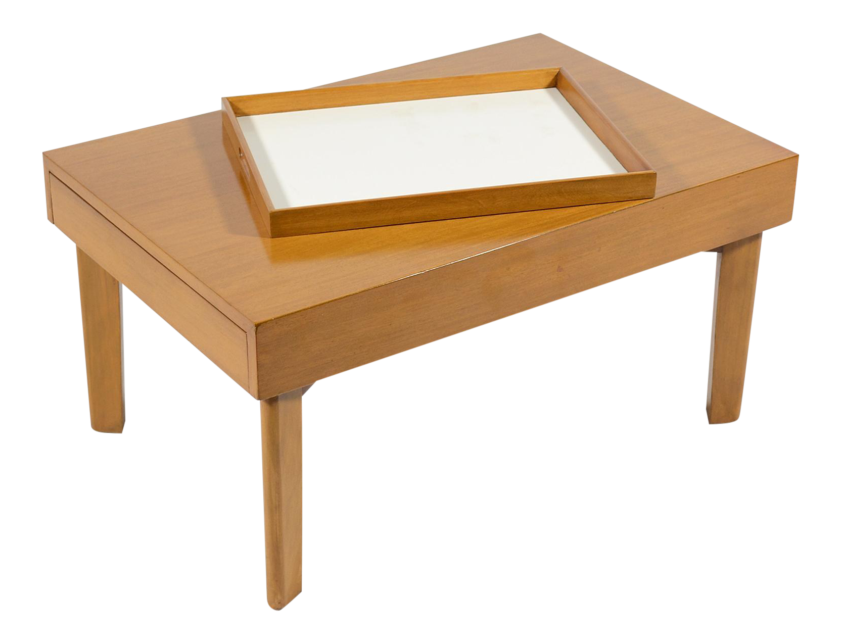 World Class George Nelson Model 4652 Extension Coffee Table by