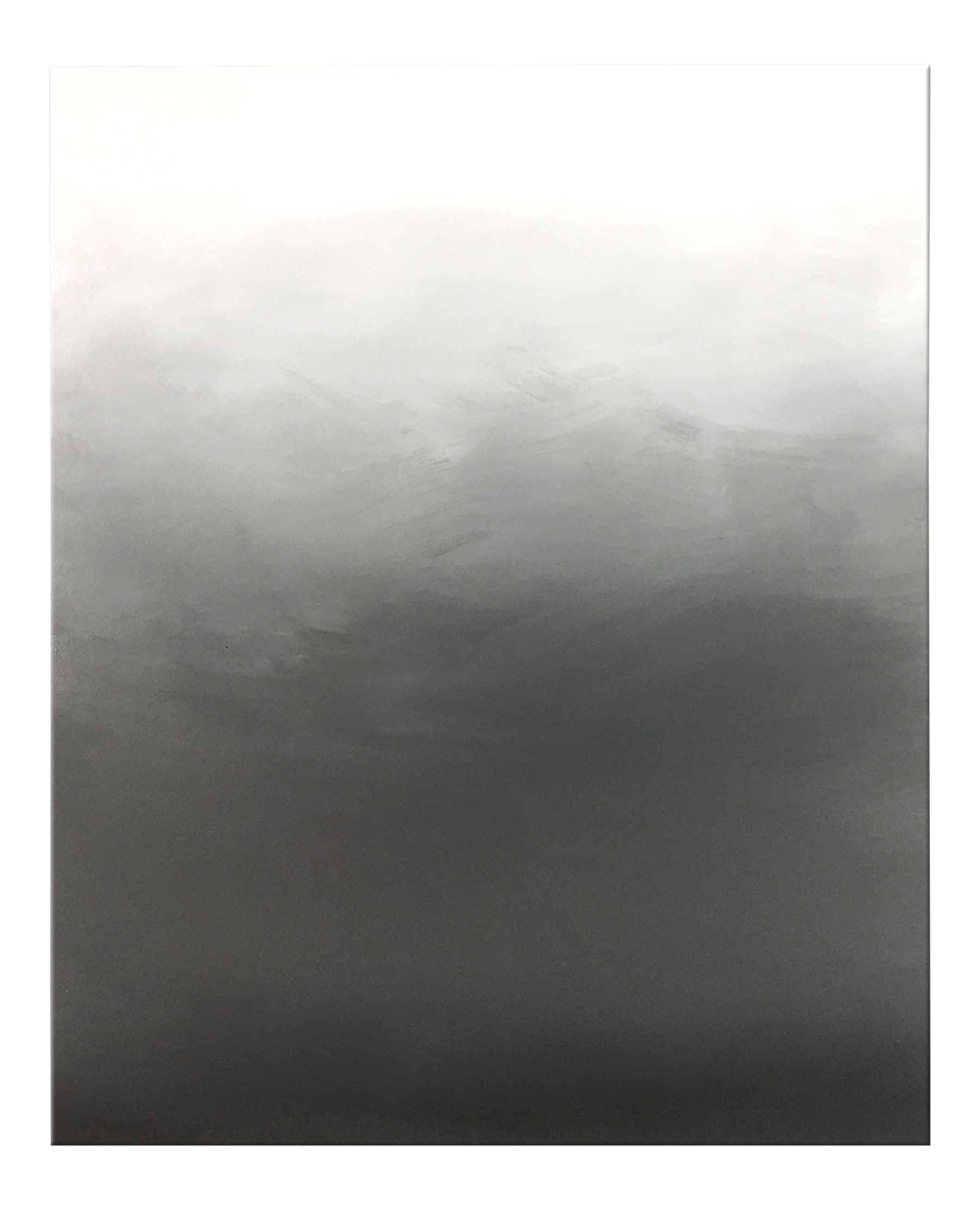Abstract Gray Ombr Original Painting - Chairish