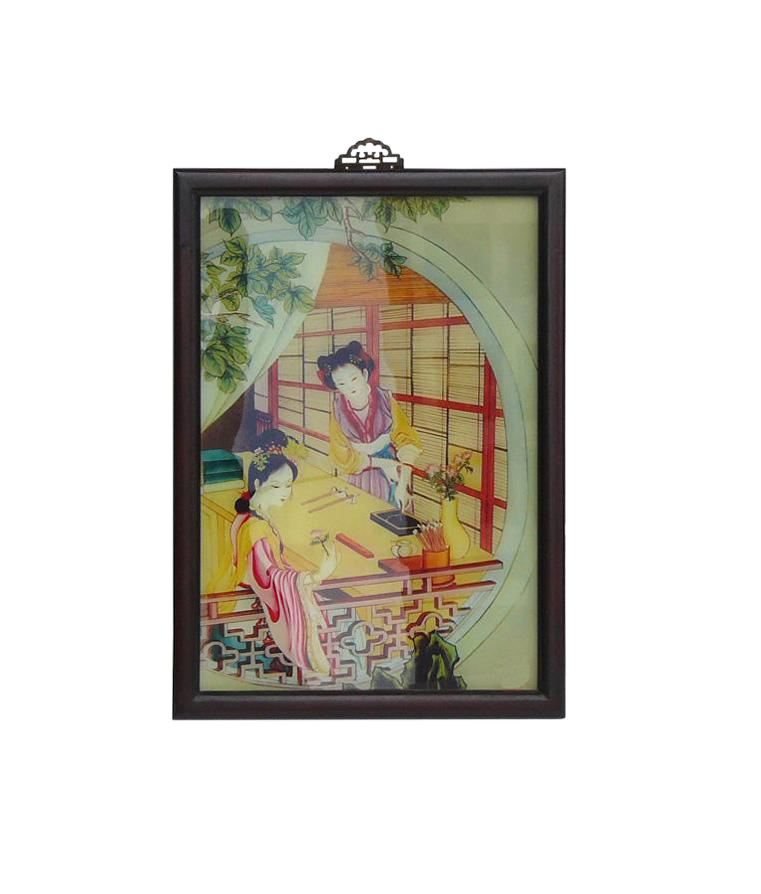 Traditional Chinese Ancient Ladies Wall Art Chairish
