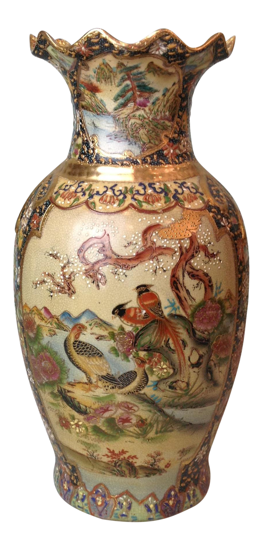 Satsuma Vases Value Pottery Lookup Beforeing