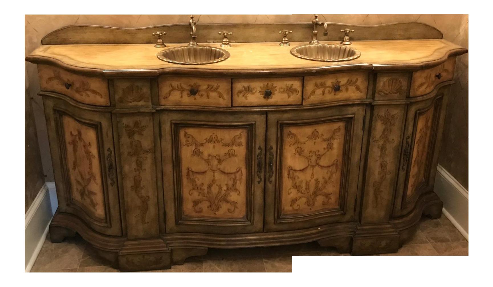 Hooker Furniture Double Vanity Sink Chairish