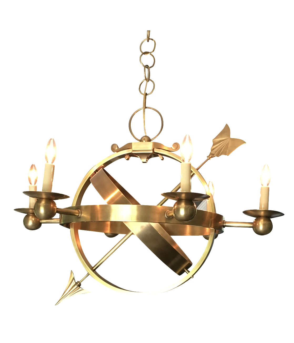 Circa armillary sphere chandelier chairish arubaitofo Choice Image