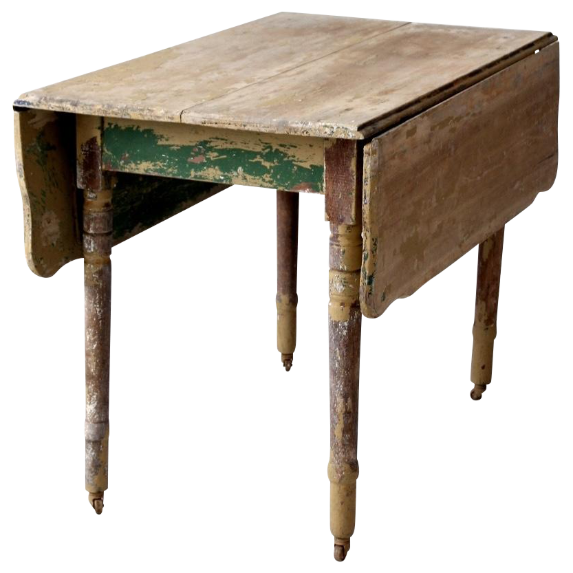 Antique Drop Leaf Table Chairish