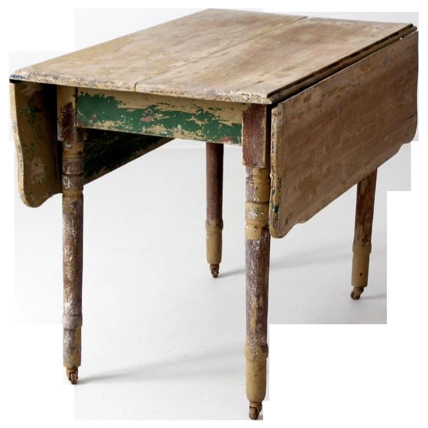 - Antique Drop Leaf Table Chairish