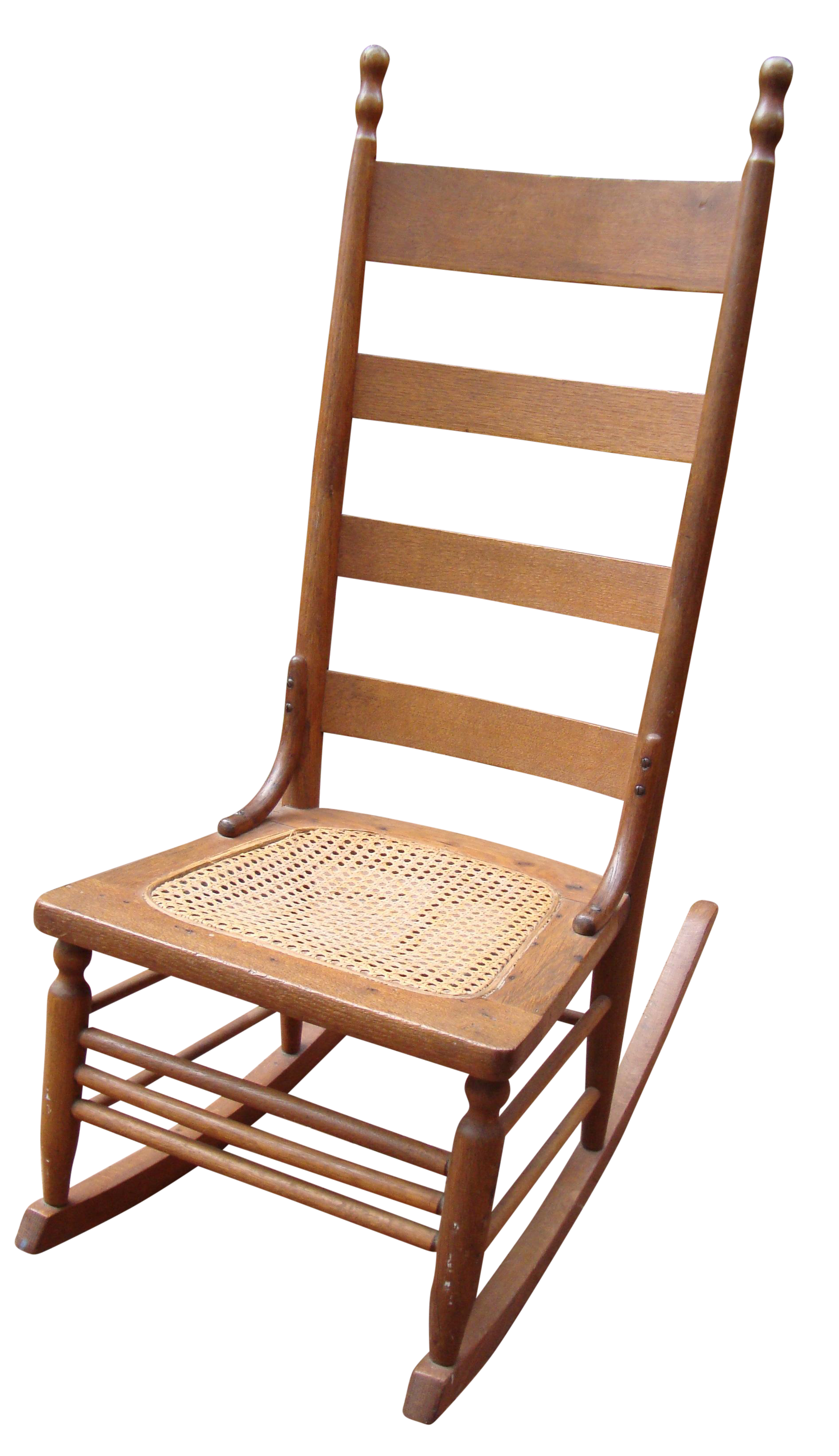 antique early american ladderback rocker chair chairish