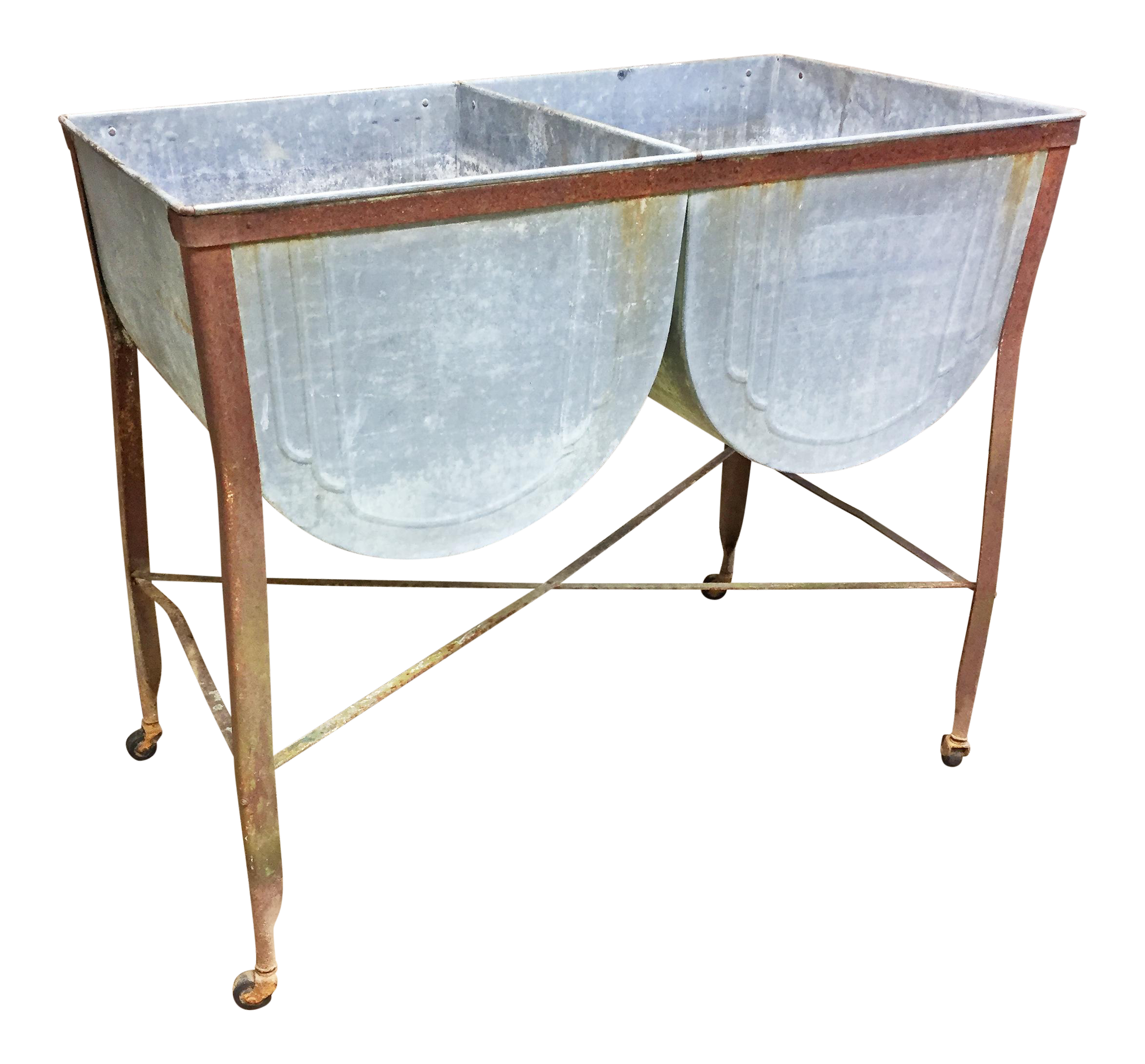 theoldgrainery with by galvanized beer il wash single plant listing tub flower sold fullxfull pot stand cooler wheeling