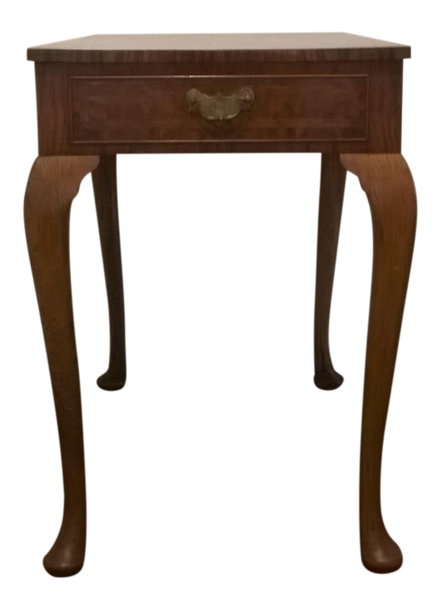 Queen Anne Revival Side Table Chairish