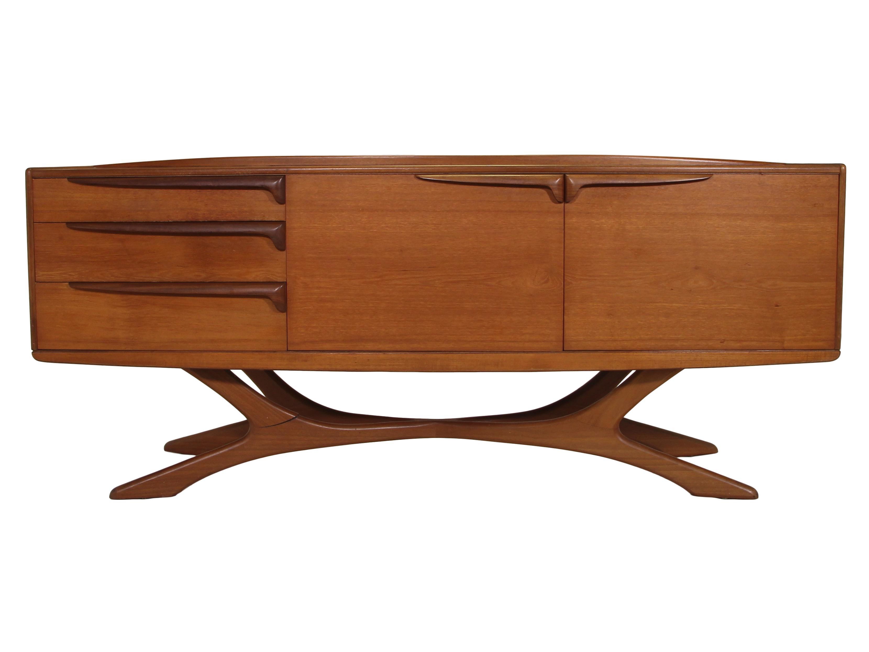 Credenza Mid Century Modern : Mid century buffet sideboard modern