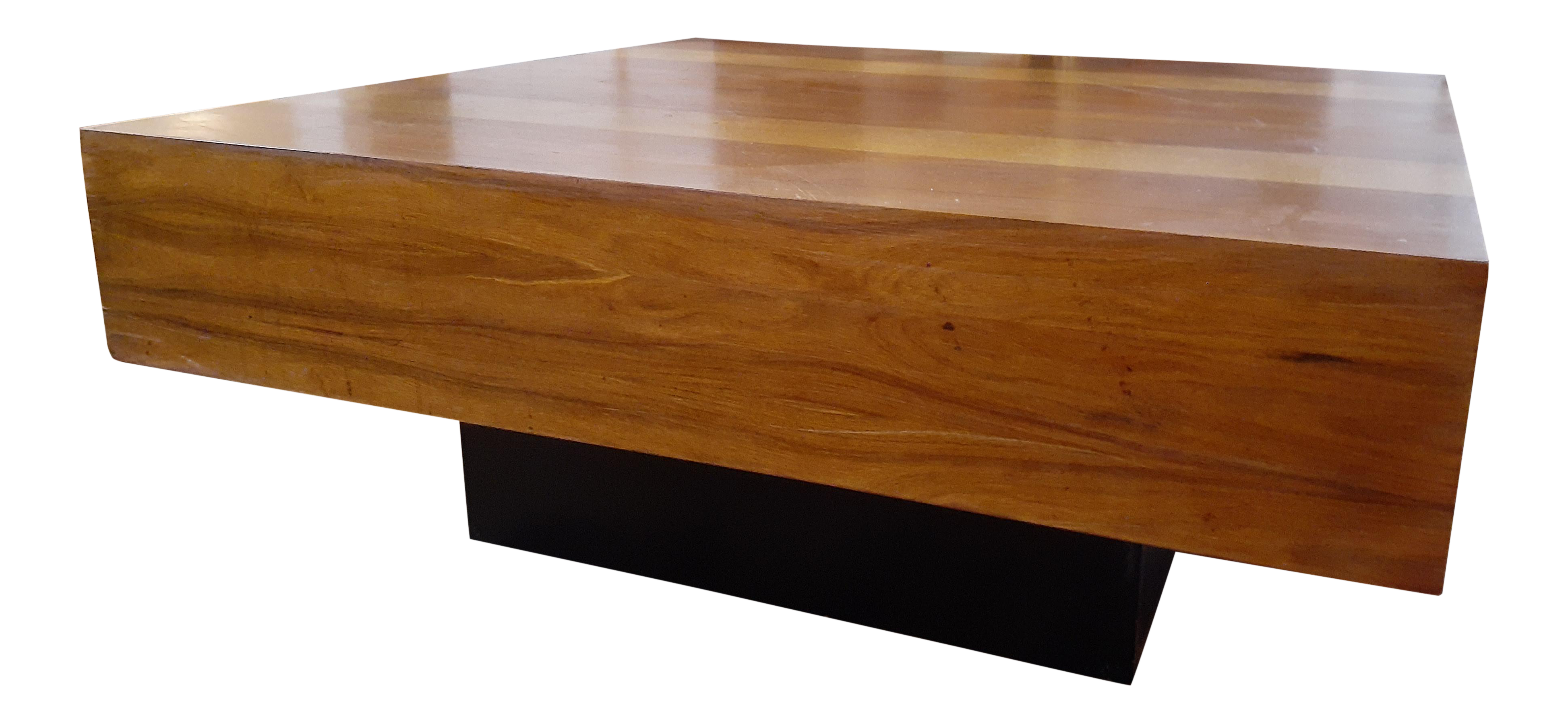 Picture of: Mid Century Modern Dyrlund Of Denmark Danish Exotic Wood Parquetry Top Square Coffee Table Chairish