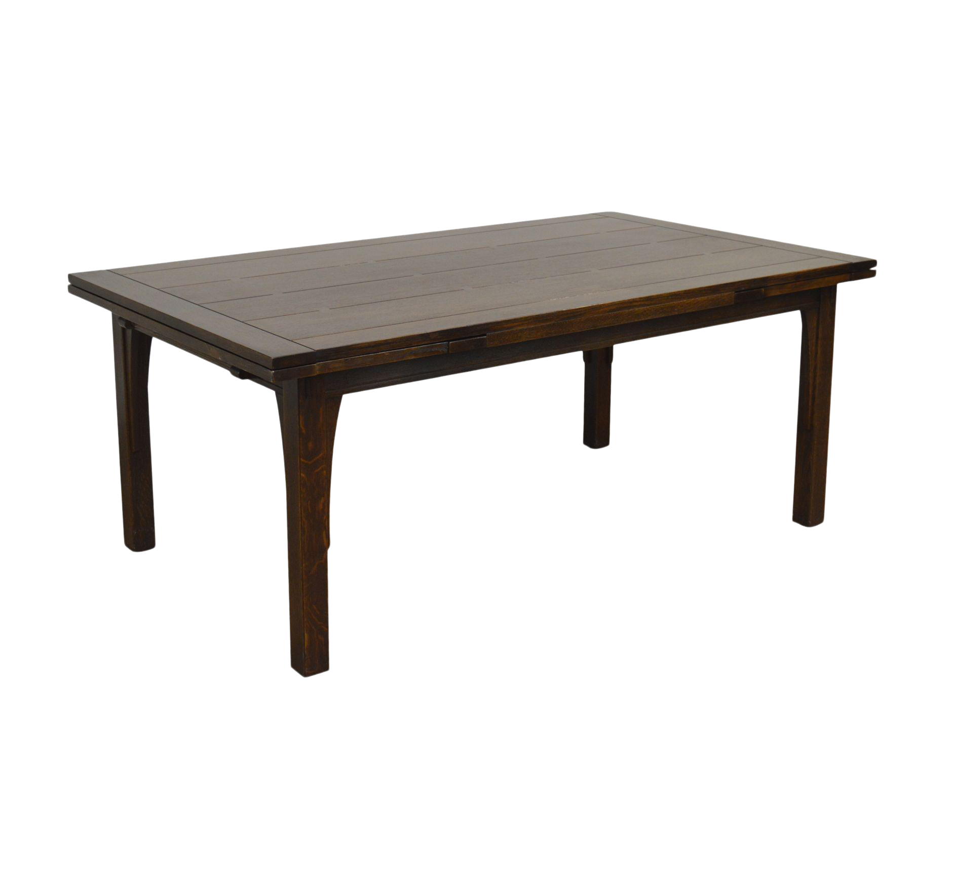 Stickley Mission Collection Oak Drawtop Dining Table