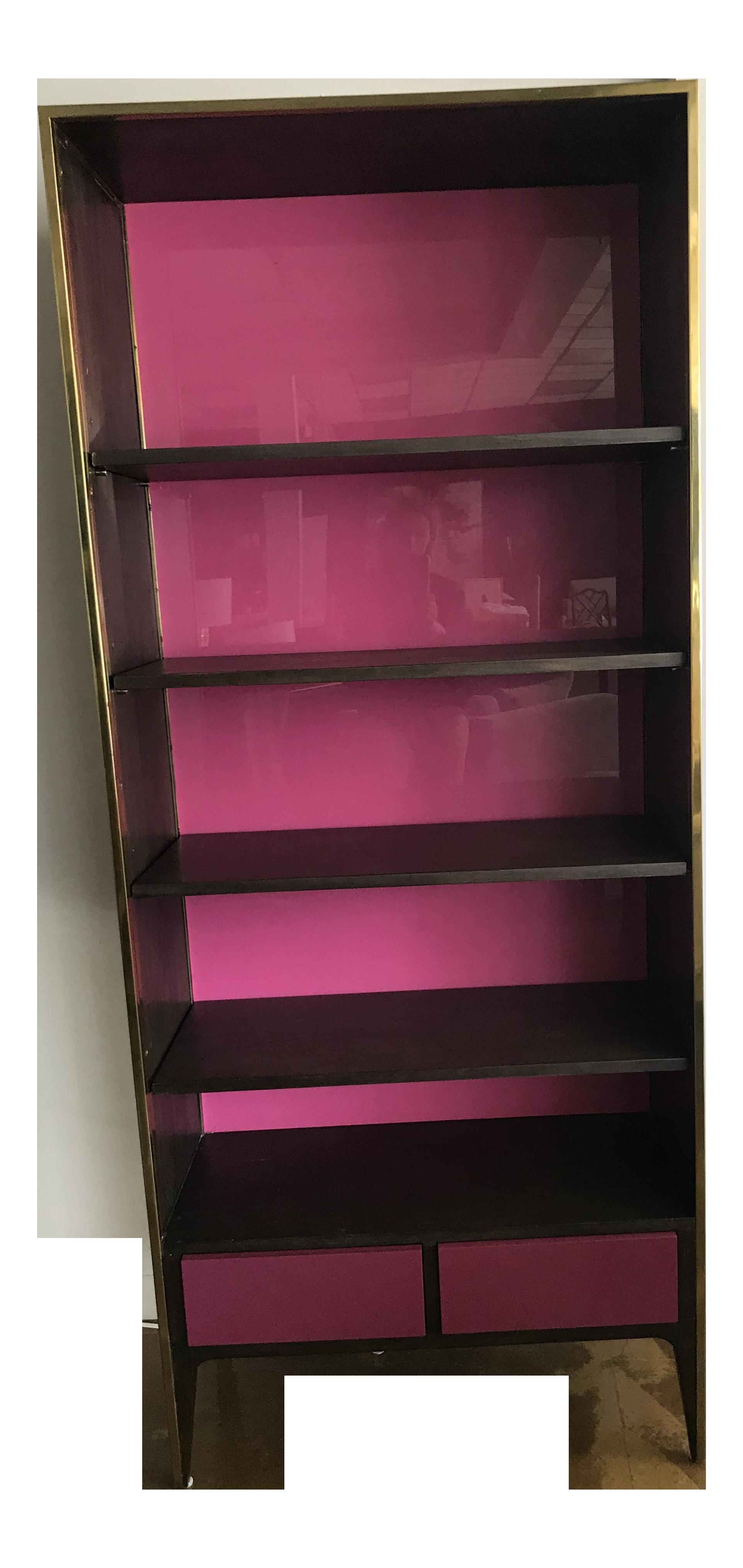 disney walmart bookcase pink minnie ip mouse bookshelf com