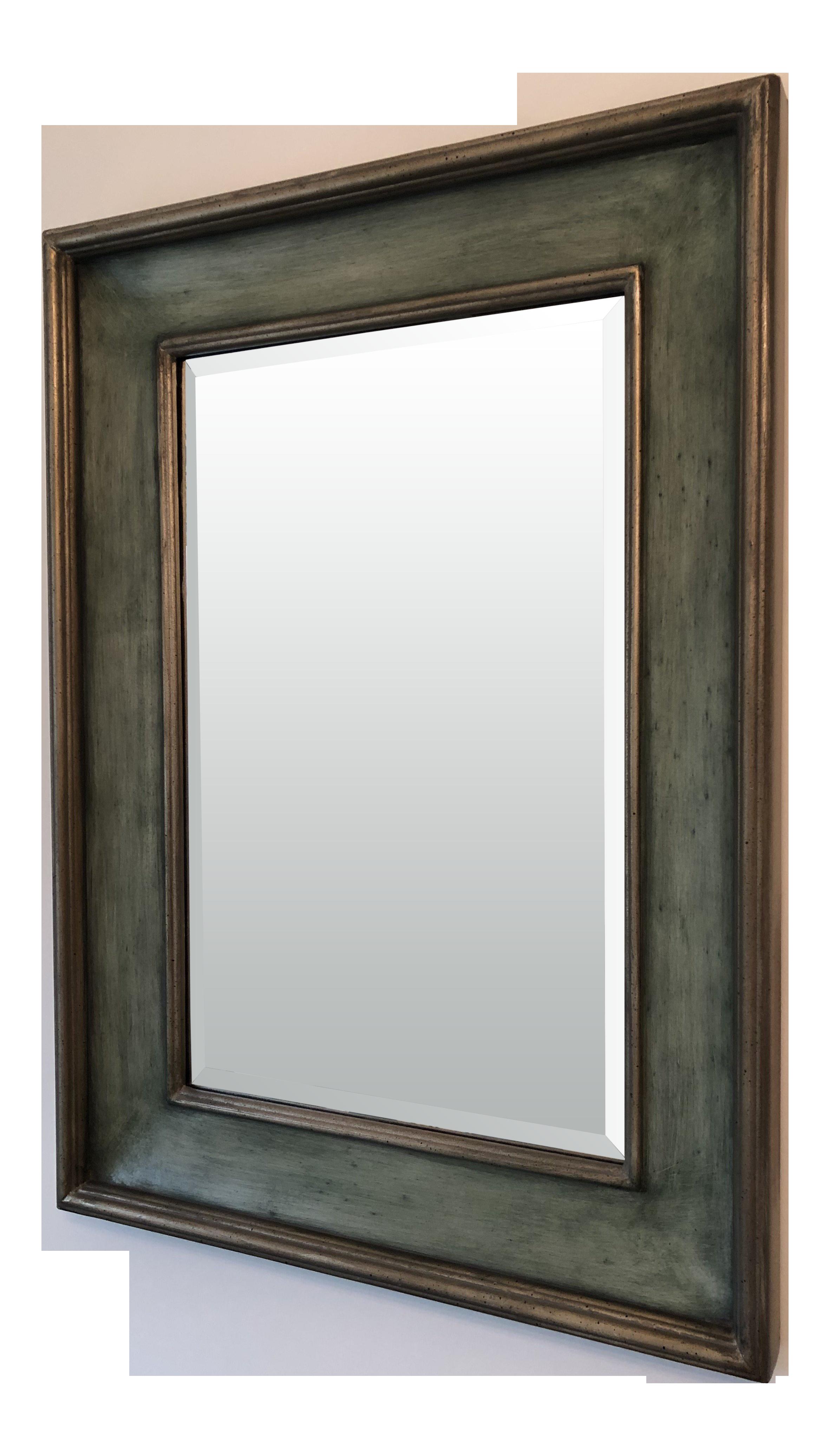 ballard designs ogden wall mirror | chairish