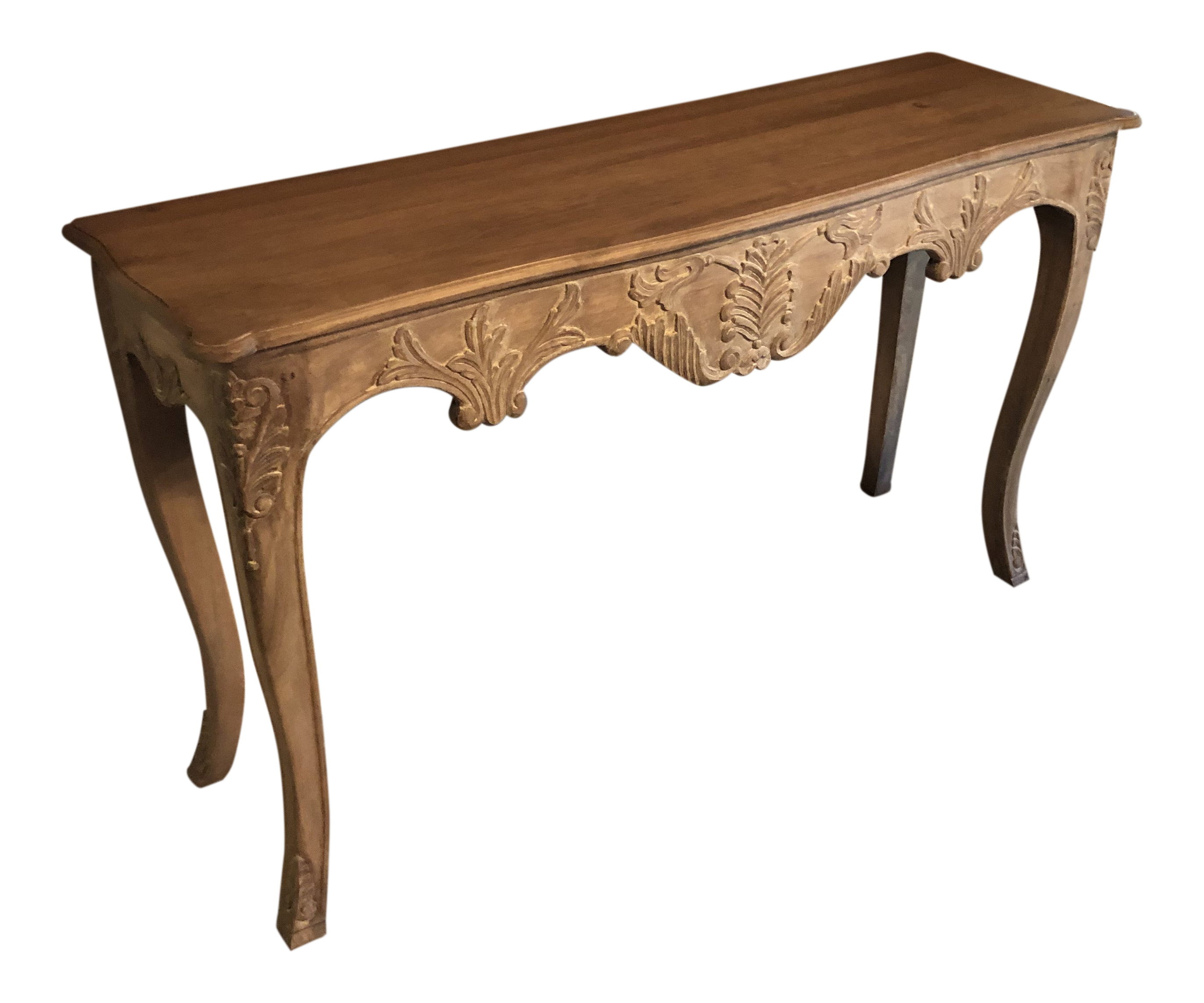 Miraculous Shabby Chic Uttermost Carved Sofa Table Gmtry Best Dining Table And Chair Ideas Images Gmtryco