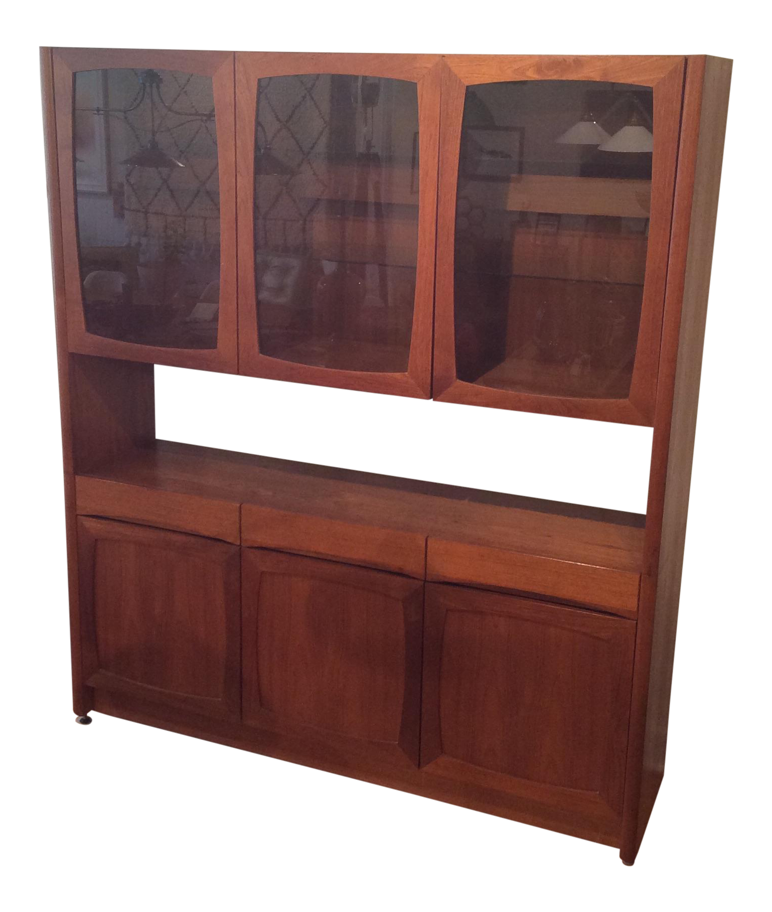 Vintage & Used Danish Modern China and Display Cabinets